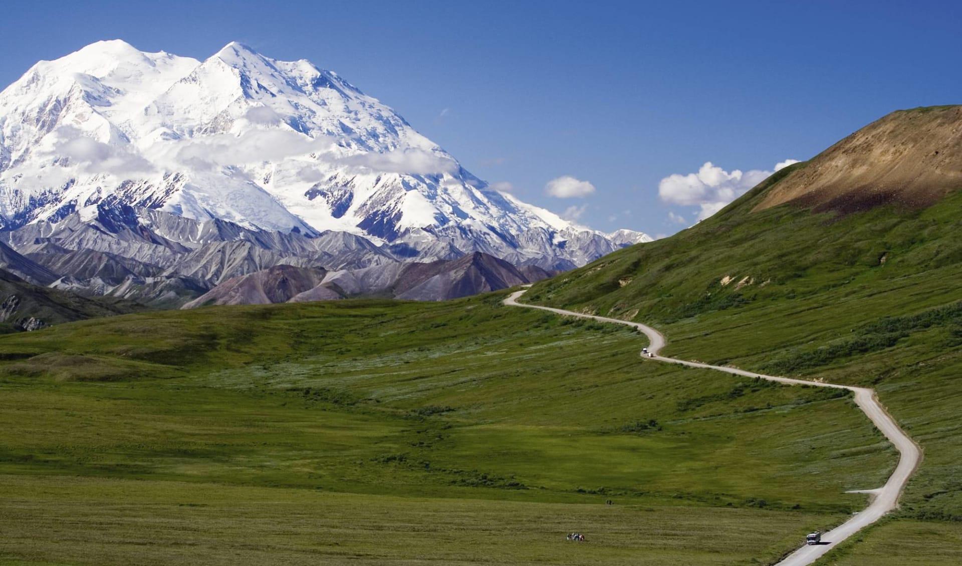 Spirit of the North ab Anchorage: Alaska - Denali Nationalpark - Denali Parkroad