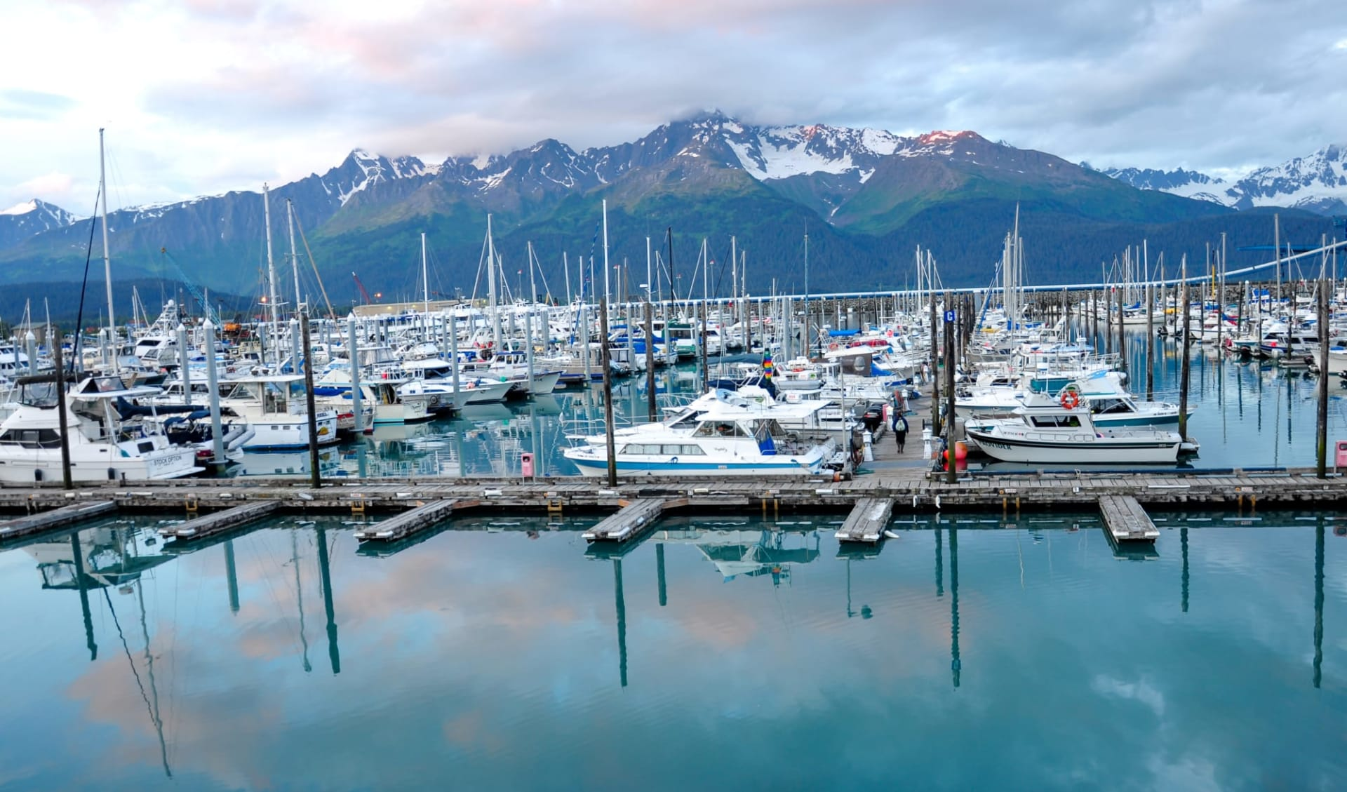 Abenteuer Yukon & Alaska ab Whitehorse: Alaska - Seward - Pier