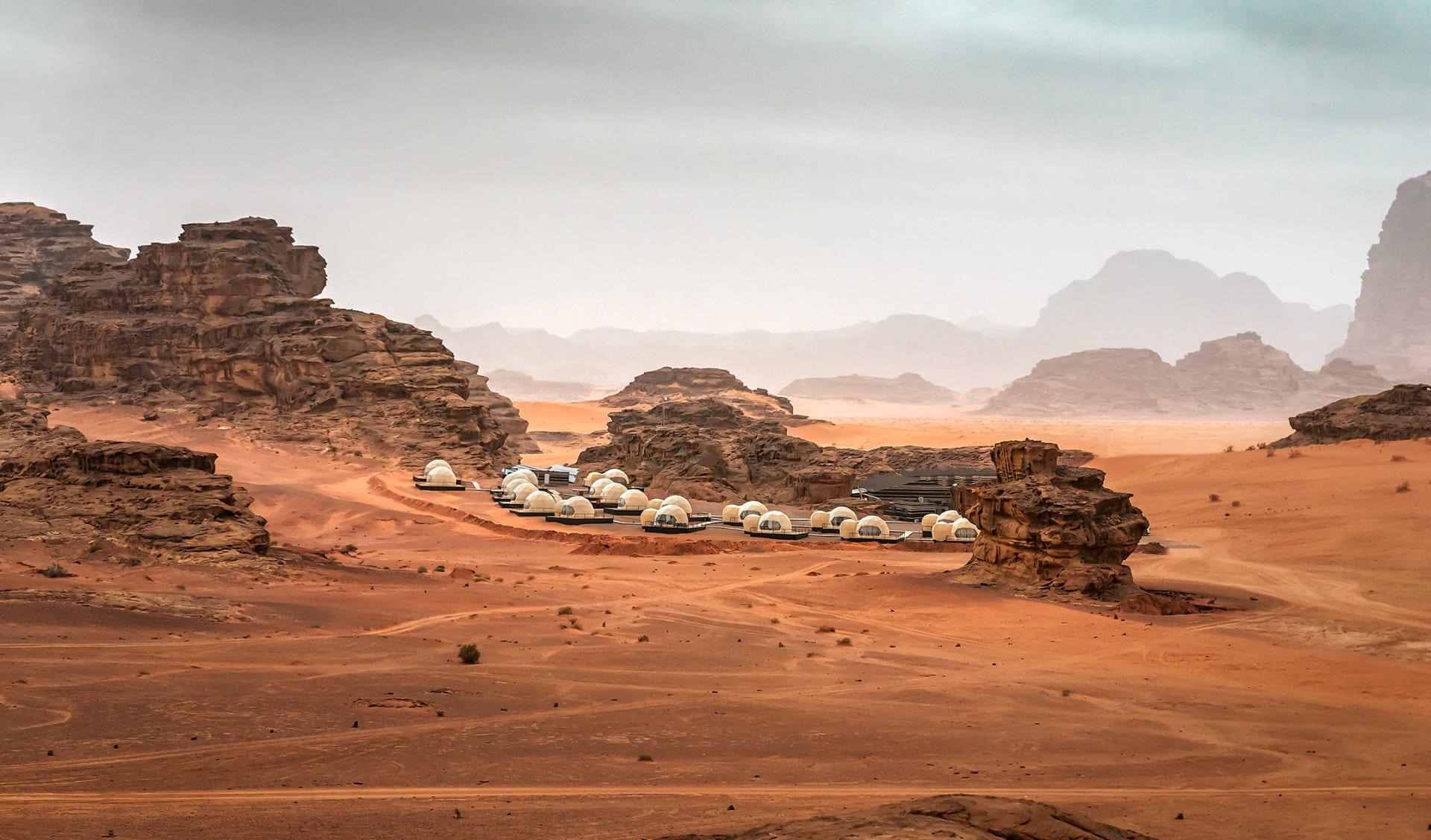 Campingplatz, Jordanien