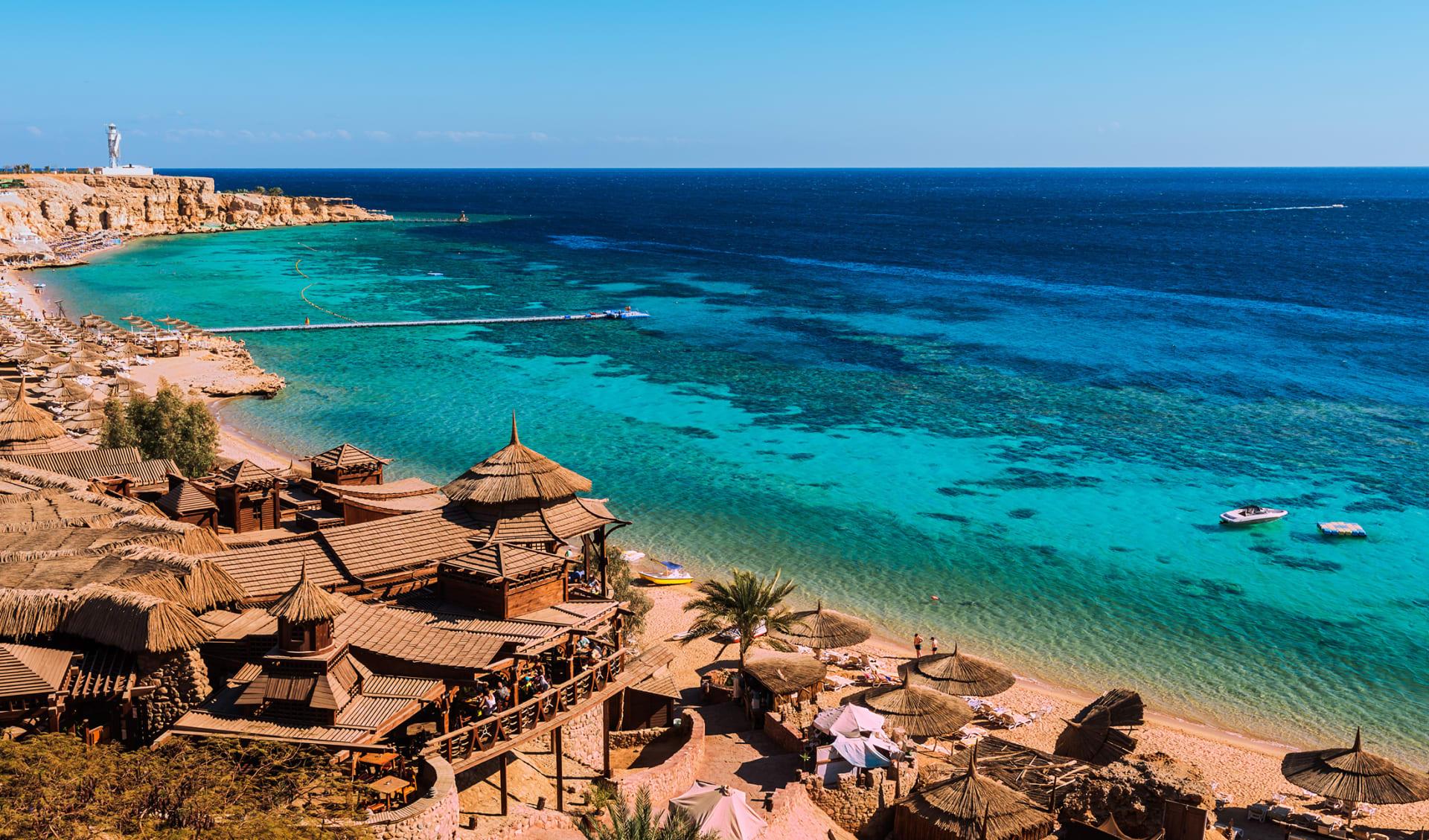 Rotes Meer Strand, Jordanien