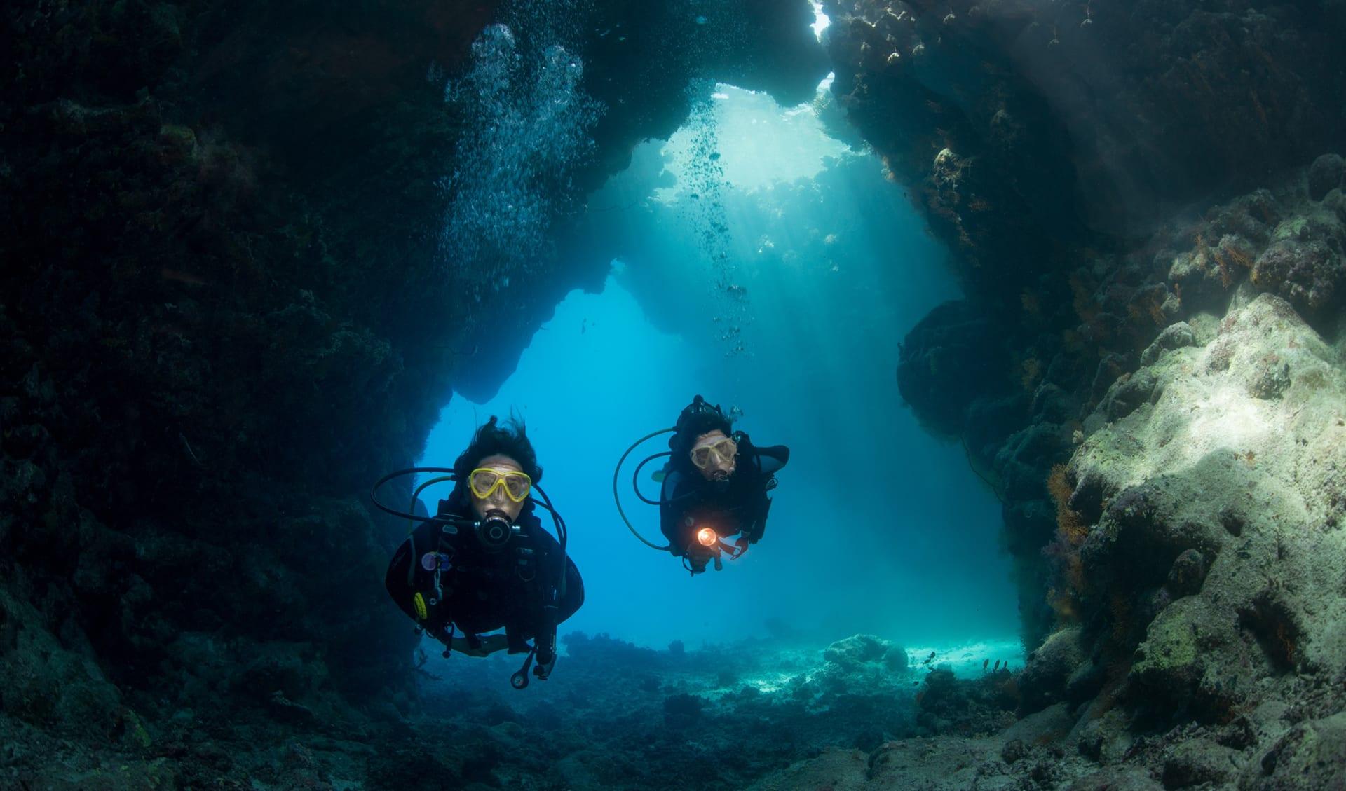Unterwassergrotten, Jordanien