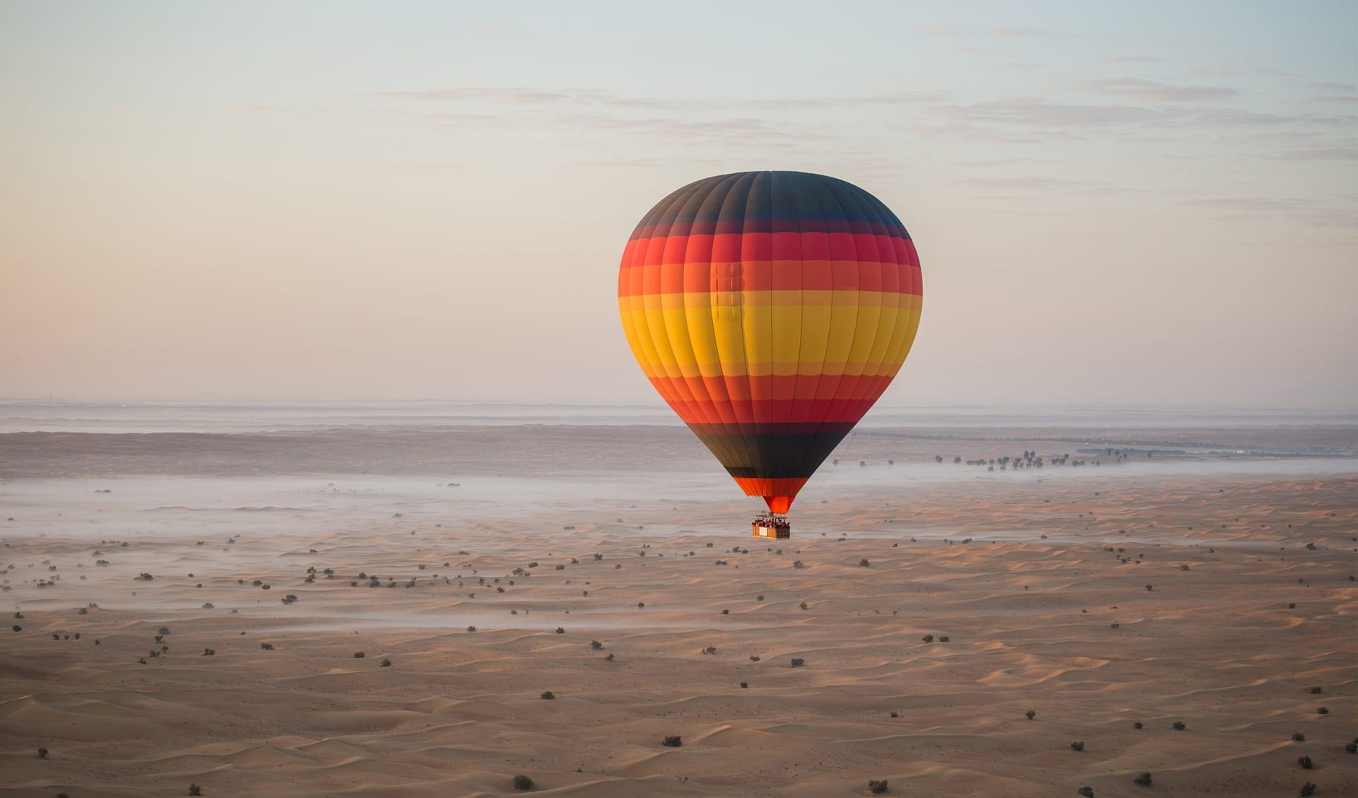 Luftballon in der Wüste, Oman