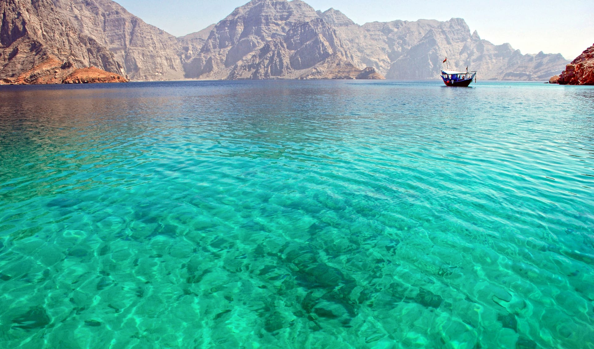 Tauchen, Oman