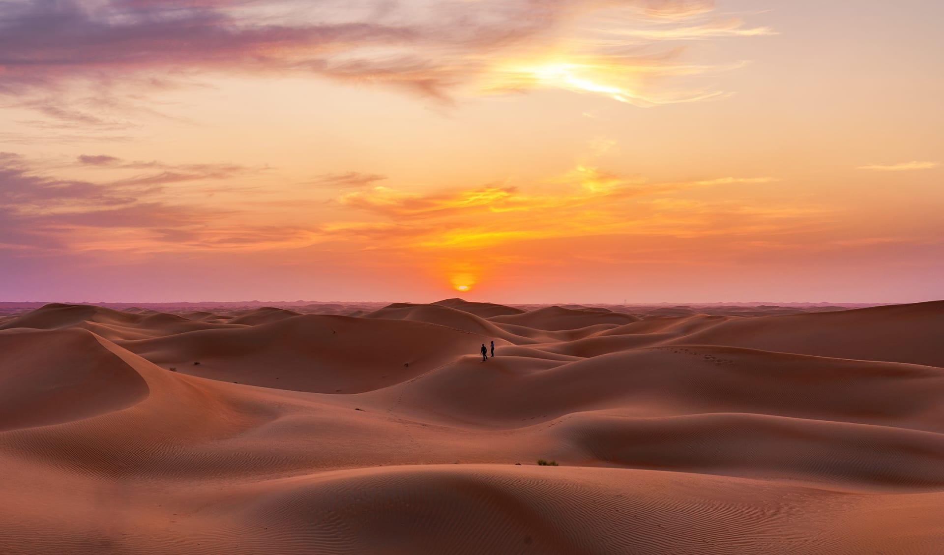 Liwa Wüste, Vereinigte Arabische Emirate