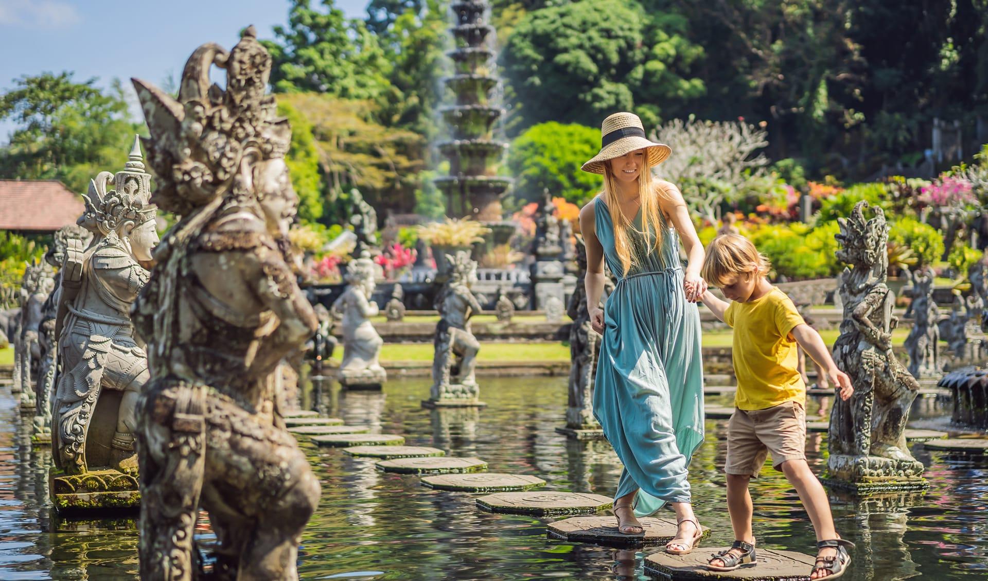 Taman Tirtagangga, Bali