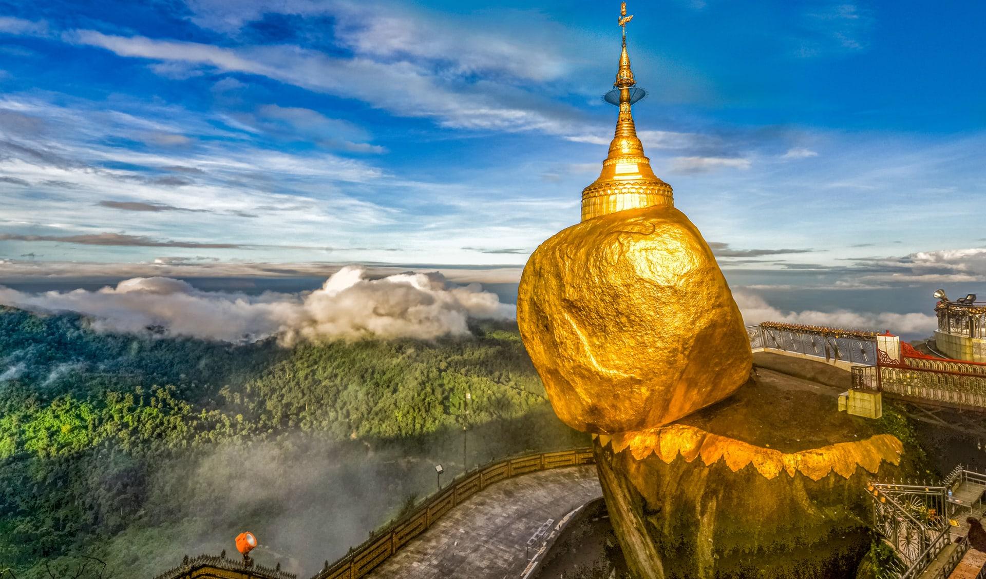 Kyaiktiyo Pagoda, Burma