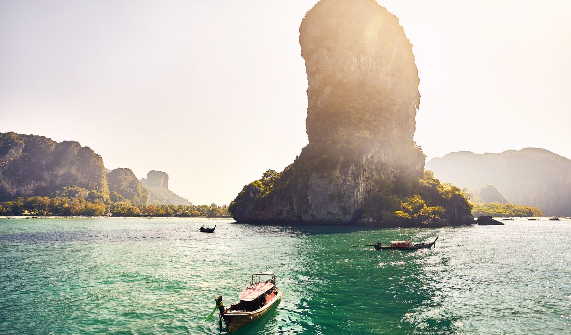 Flitterwochen, Thailand