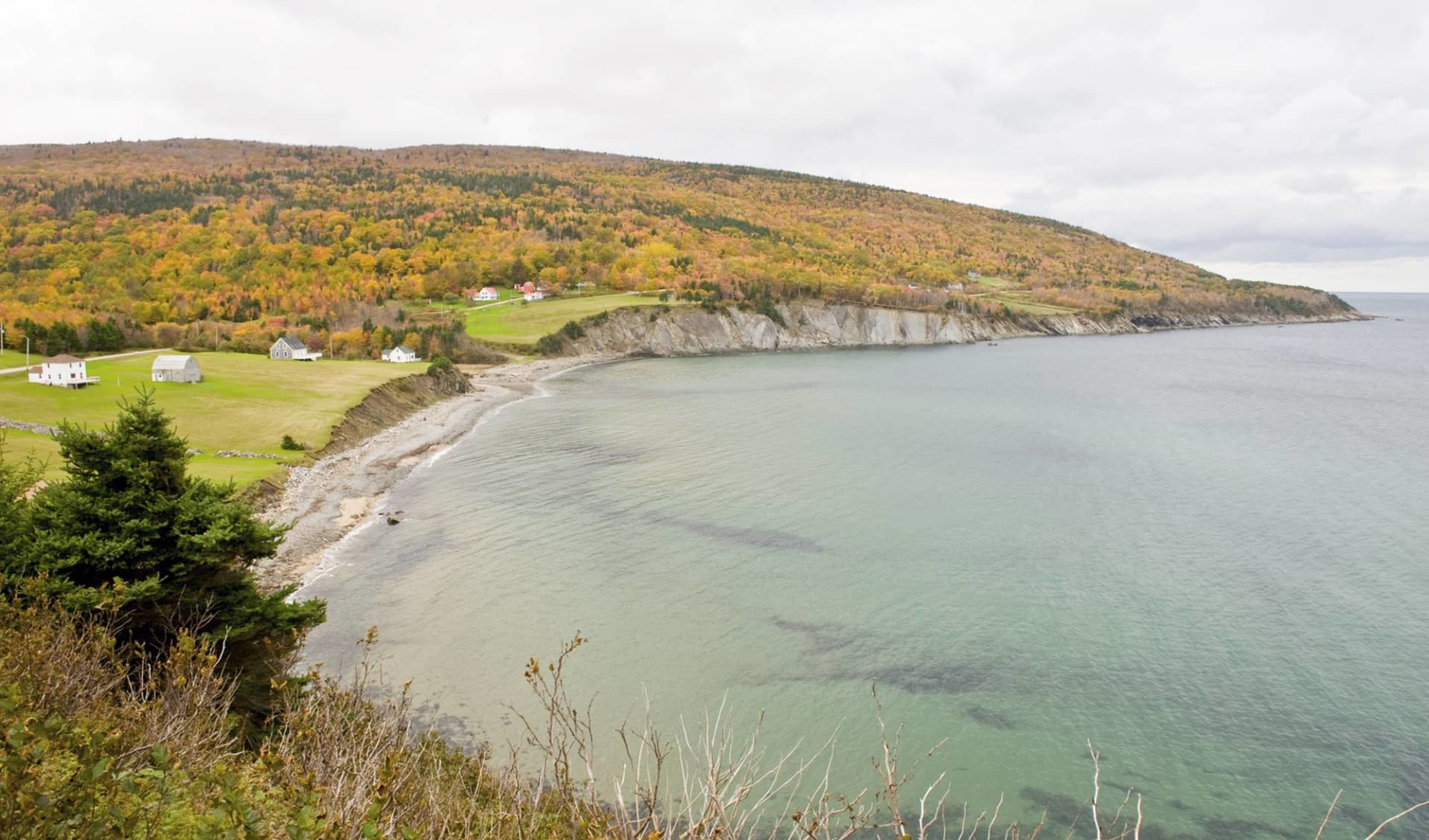 Strände, Inseln Lobster und Elche ab Halifax: Atlantikküste - Nova Scotia - Five Island Provincial Park