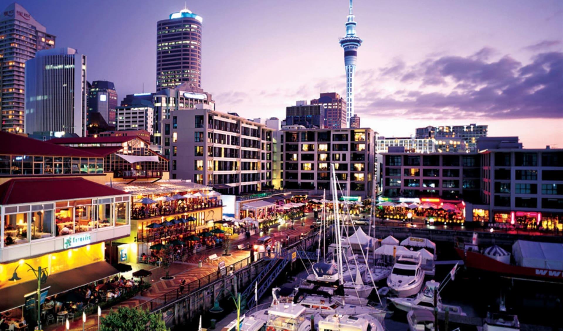 Höhepunkte der Nordinsel (AAT Kings) ab Auckland: Auckland - Harbour
