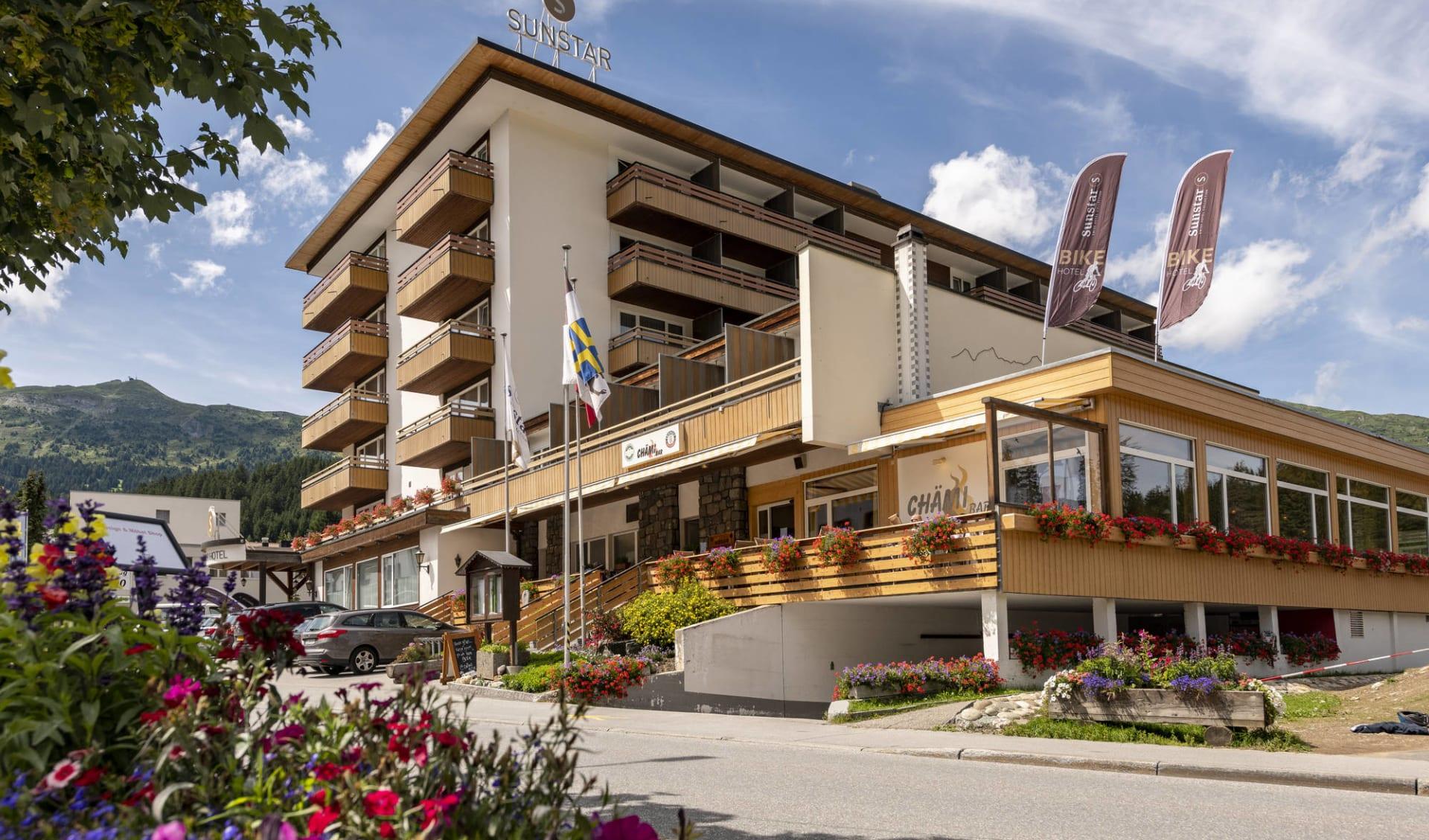 Lenzerheide - Hotel Sunstar: Aussenansicht - Sunstar Hotel Lenzerheide