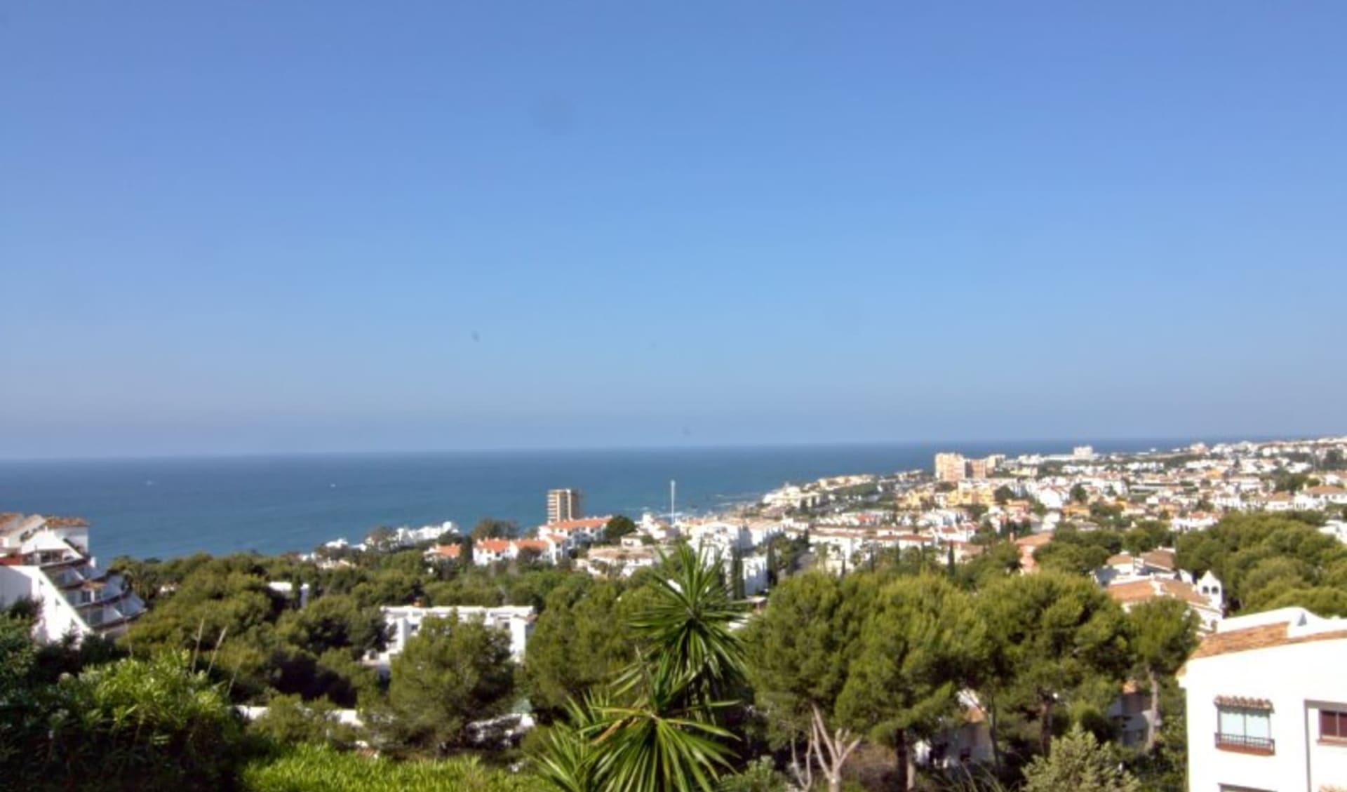 Mijas - Riviera Ferienwohnungen ab Malaga: aussicht