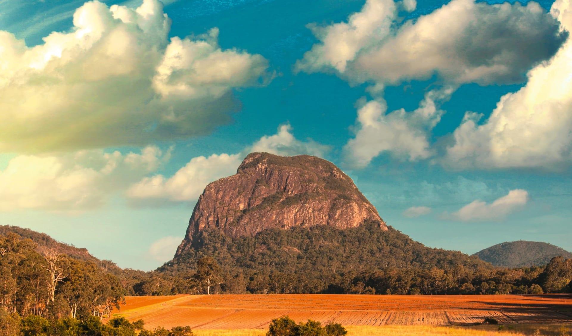 Queensland at its Best - Hinterland ab Brisbane: Australia - Queensland - Glasshouse Mountains