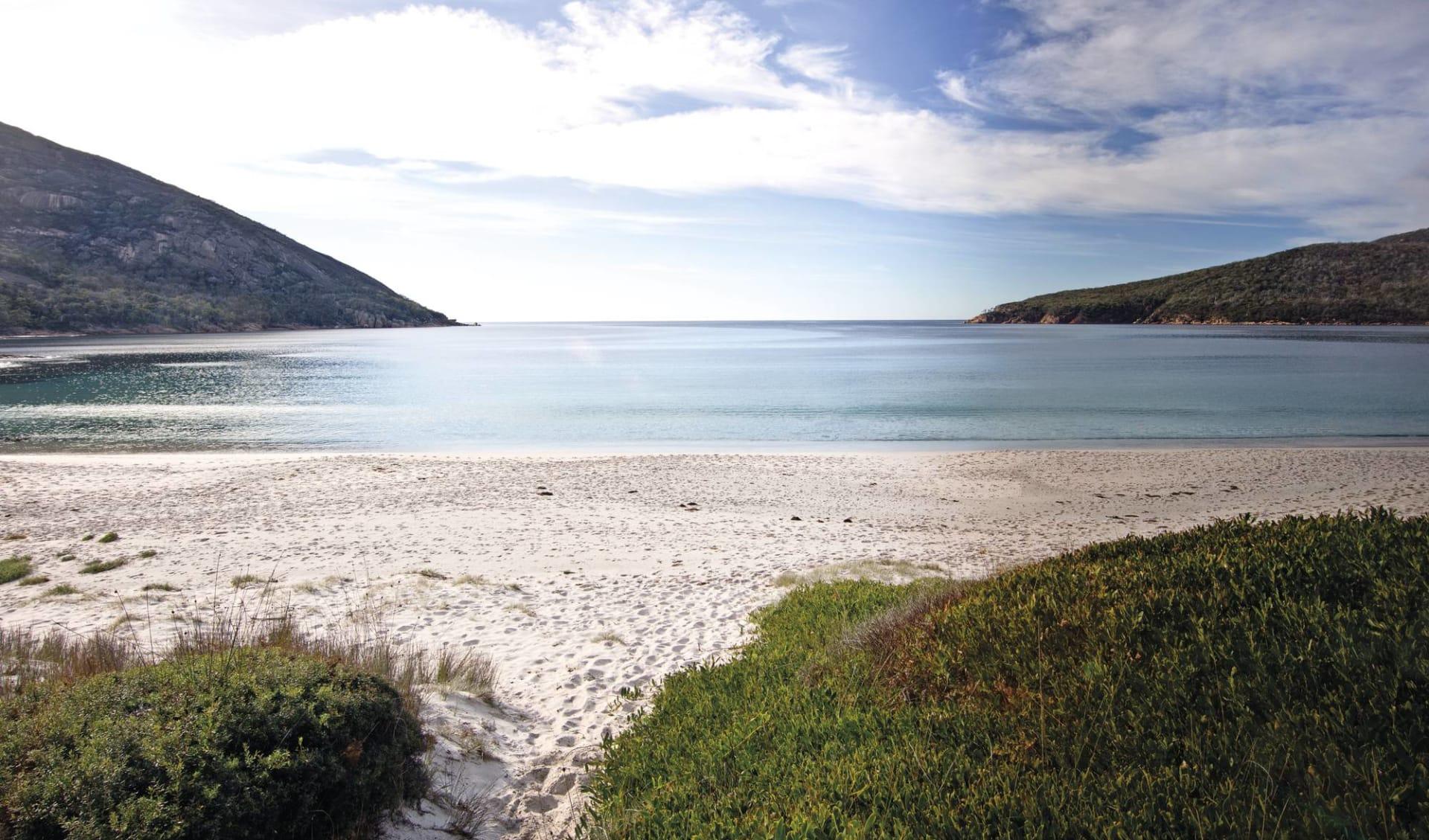 Tasmanien für Geniesser 5 Tage ab Launceston: Australia - Tasmania - Freycinet NP - Sandstrand