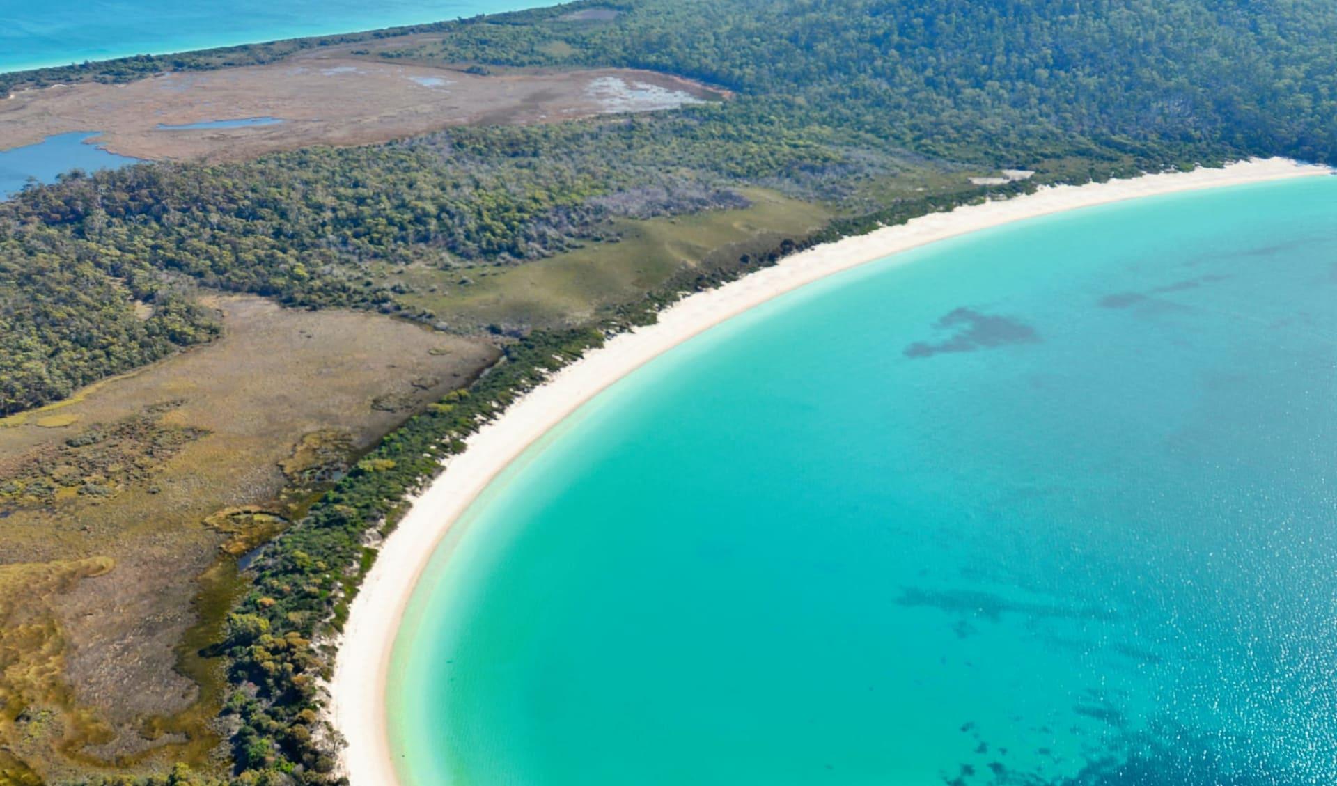 Tasmanien für Geniesser 5 Tage ab Launceston: Australia - Tasmania - Freycinet NP - Wineglass Bay - Nahsicht