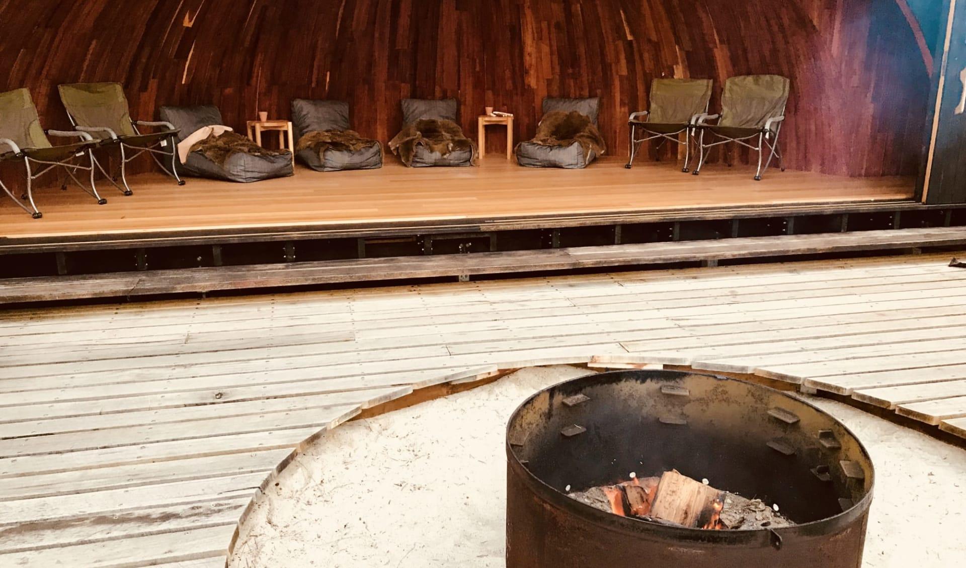 Wukalina Walk ab Launceston: Australia Tasmanien Wukalina Walk Campfeuer