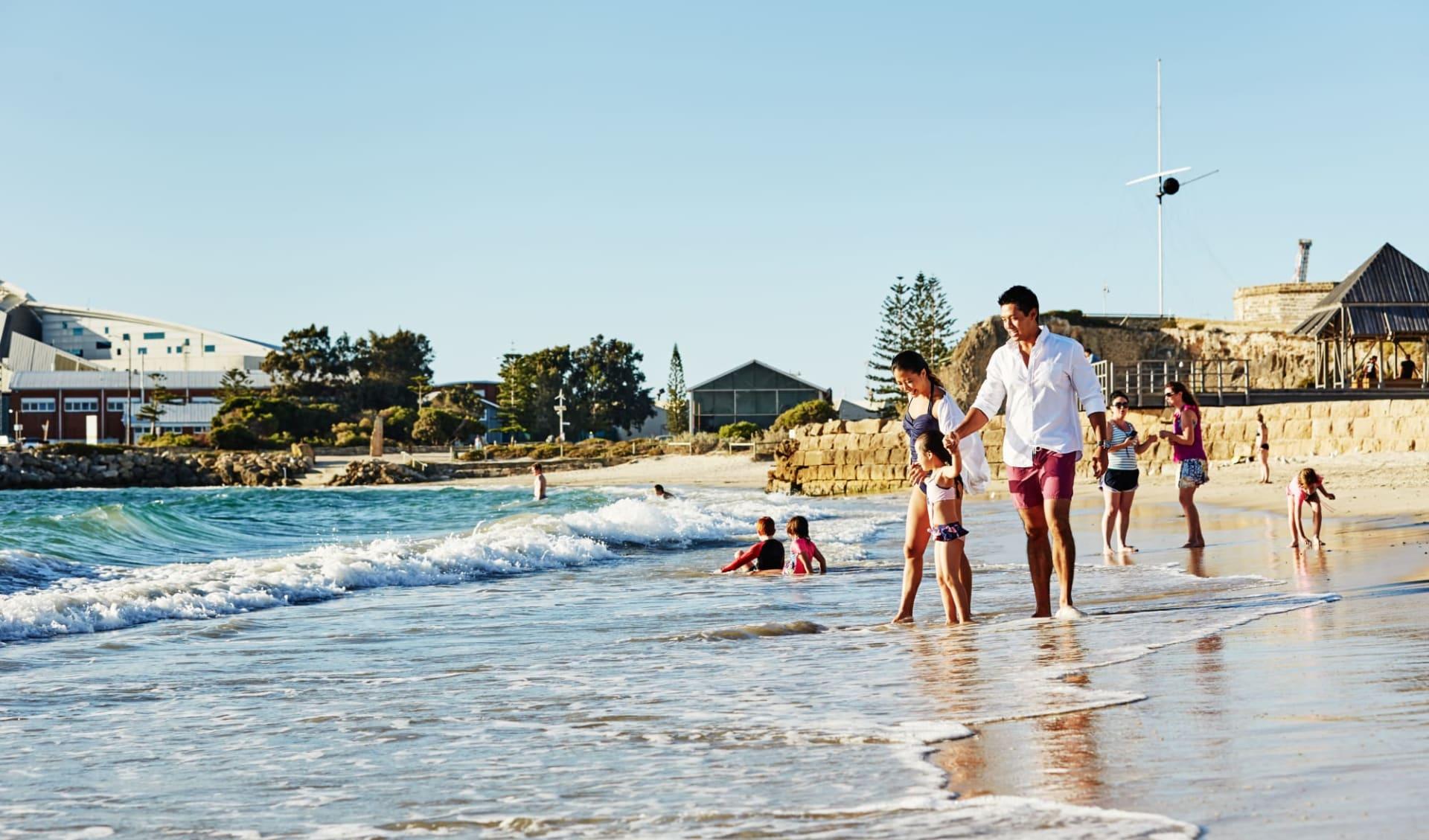 Great Western Explorer - Perth bis Broome: Australia - Western Australia - Perth - Fremantle Beach