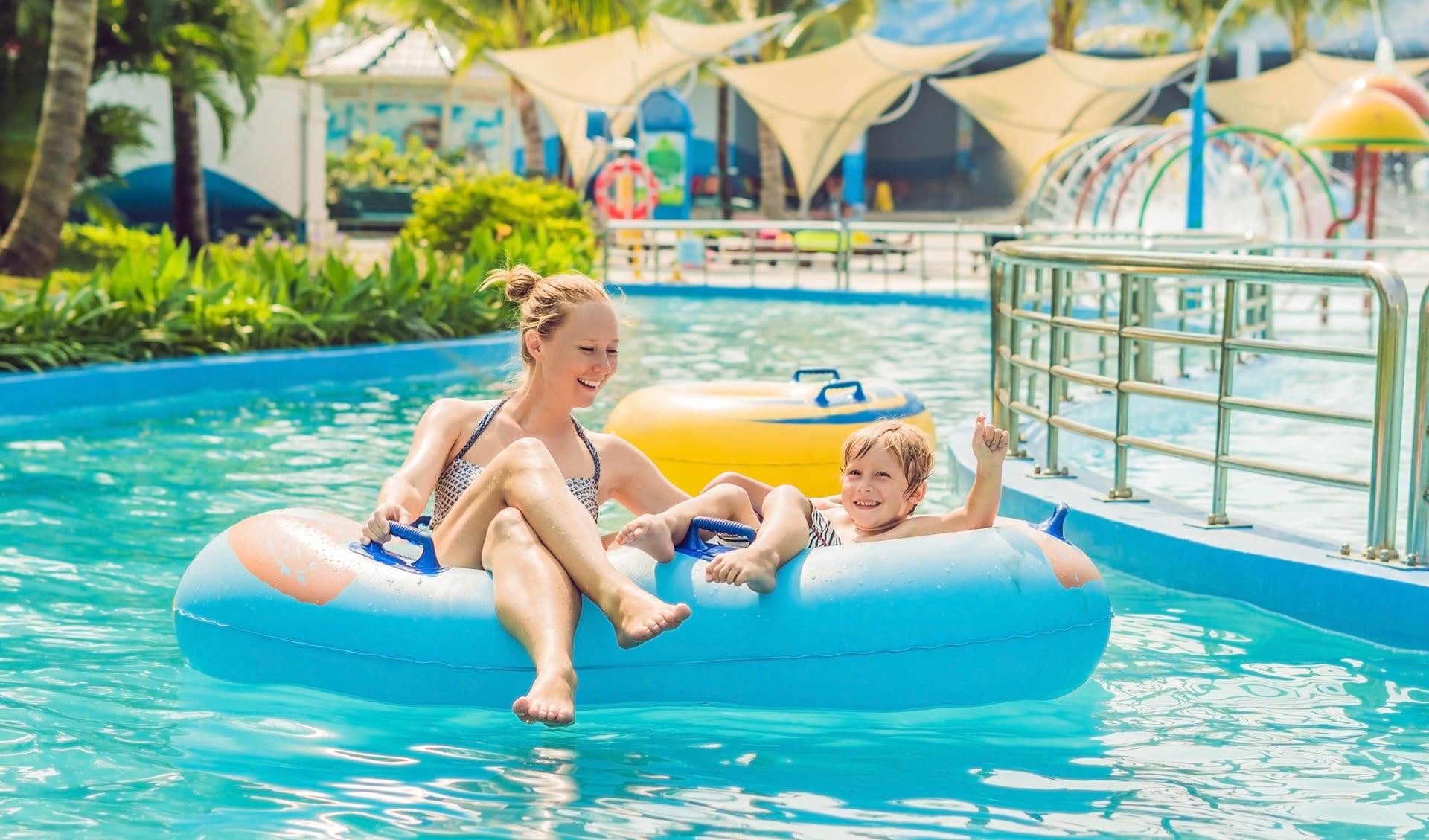 Reisen mit Kindern, Wasser Park, Australien
