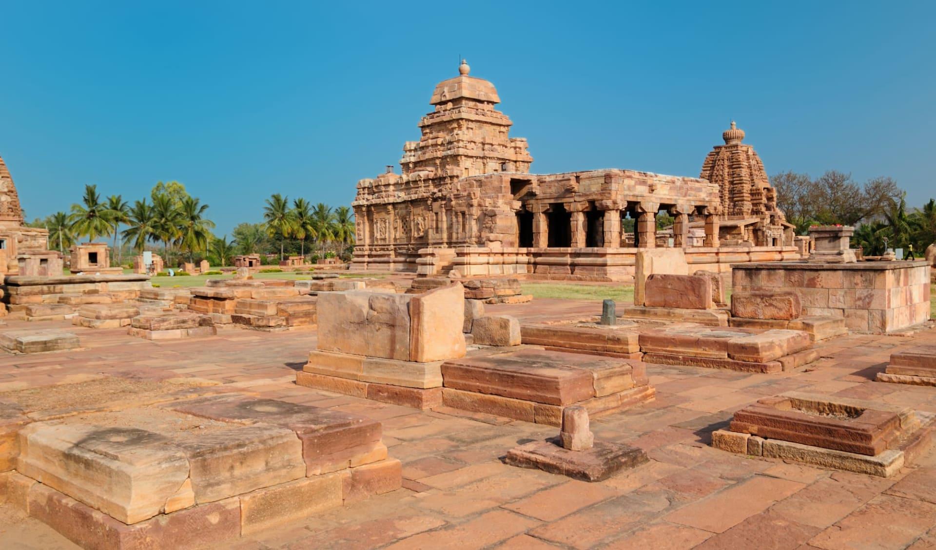 Kulturschätze Karnatakas ab Bengaluru: Badami: ancient temple