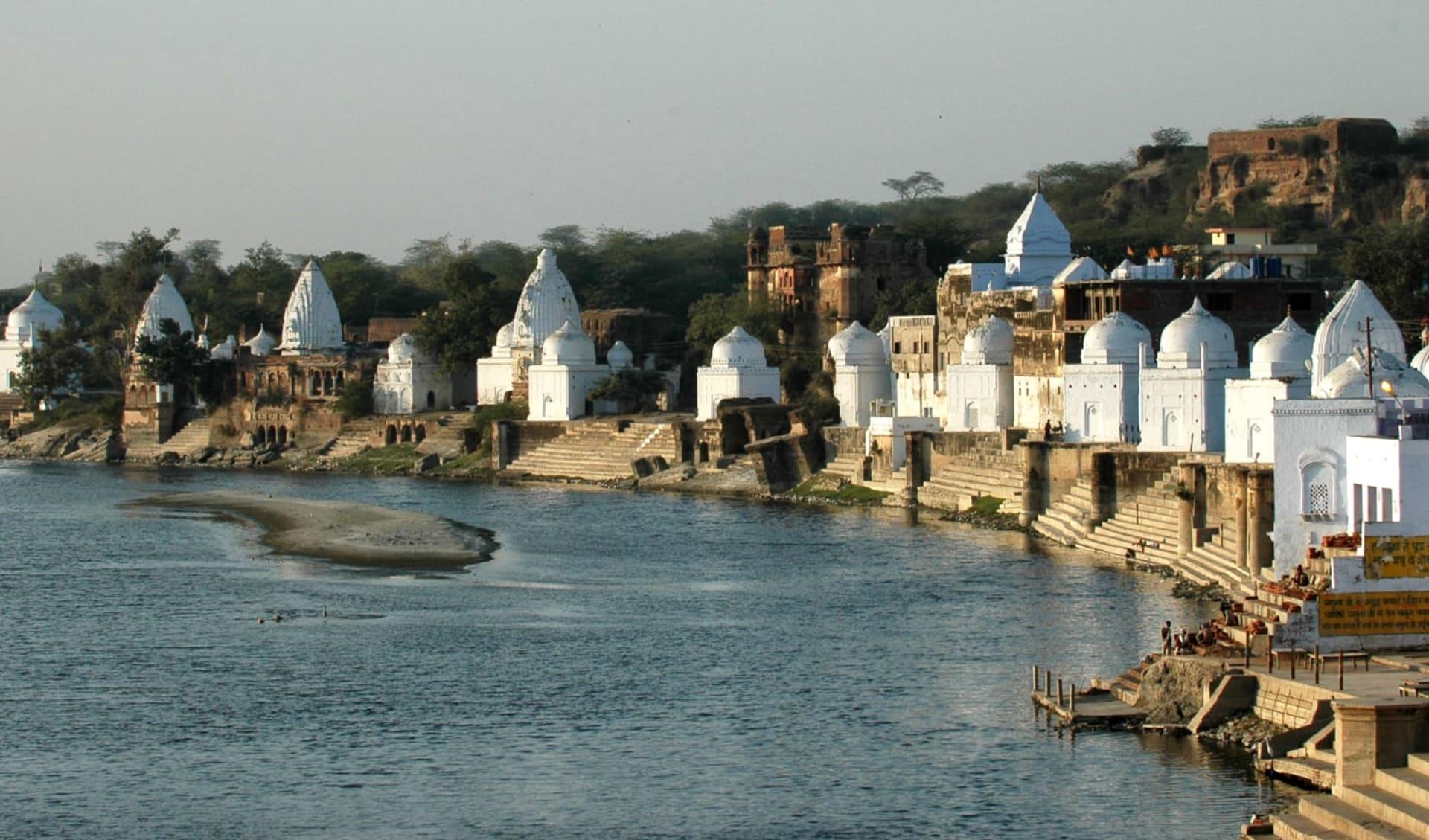 Chambal Safari ab Agra: Bateshwar: Temple Complex