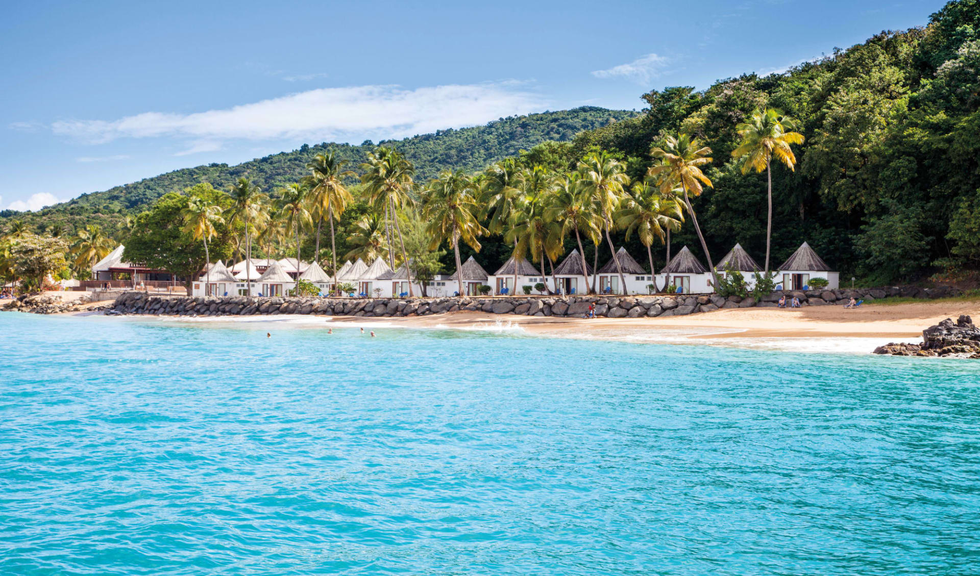 Langley Resort Fort Royal in Deshaies:  Guadeloupe_Langley Resort Fort Royal_Beach