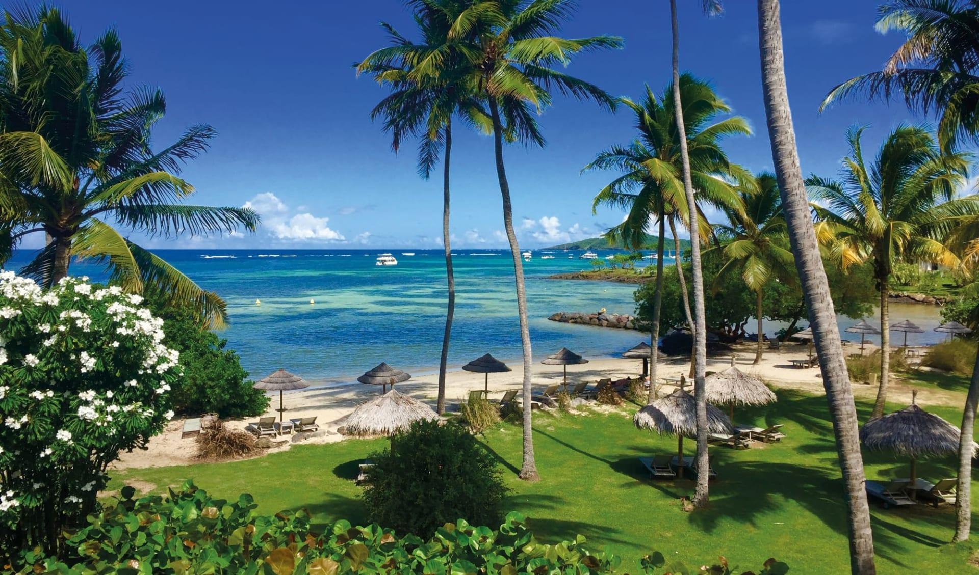 Le Cap Est Lagoon Resort & Spa in La Prairie:  Martinique_Le Cap Est LAgoon Resort & Spa_Beach