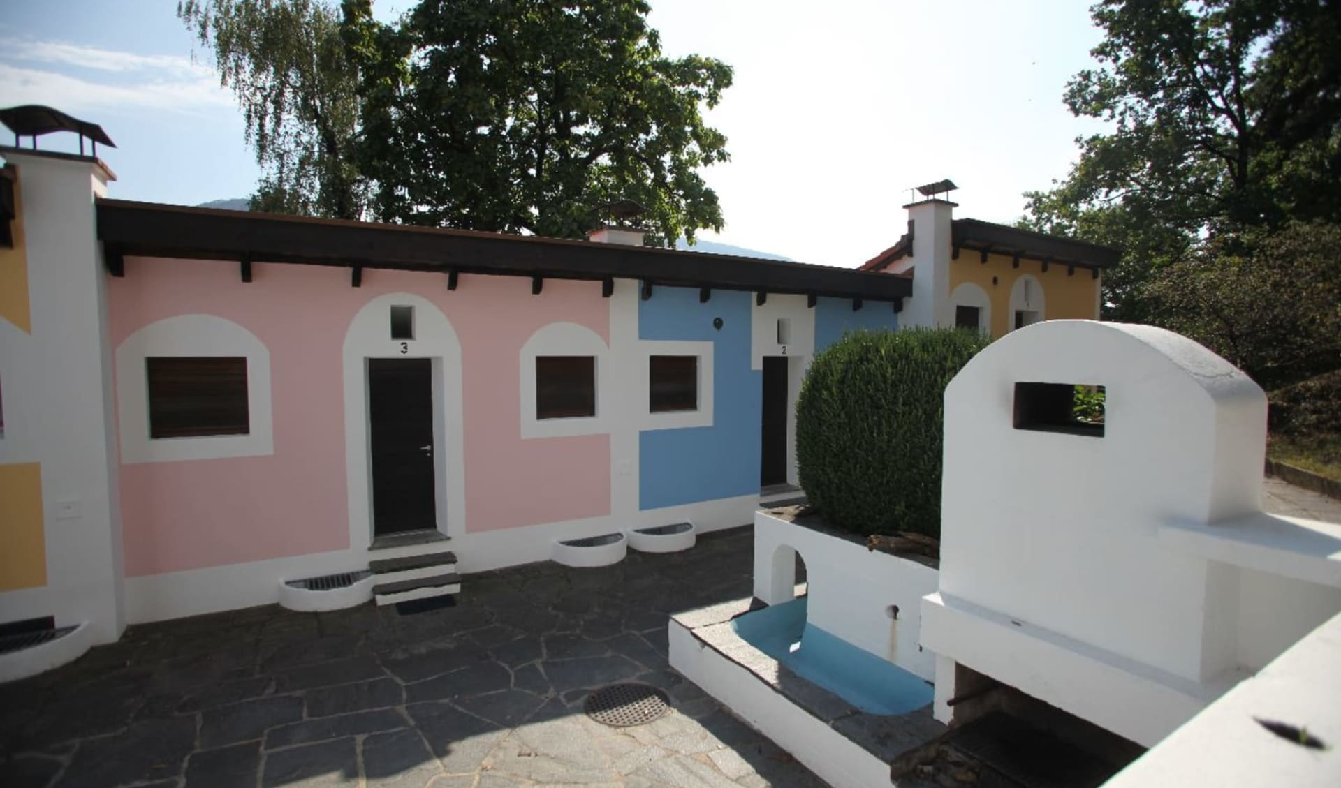 Sessa - Hotel i Grappoli: Bungalow i Grappoli