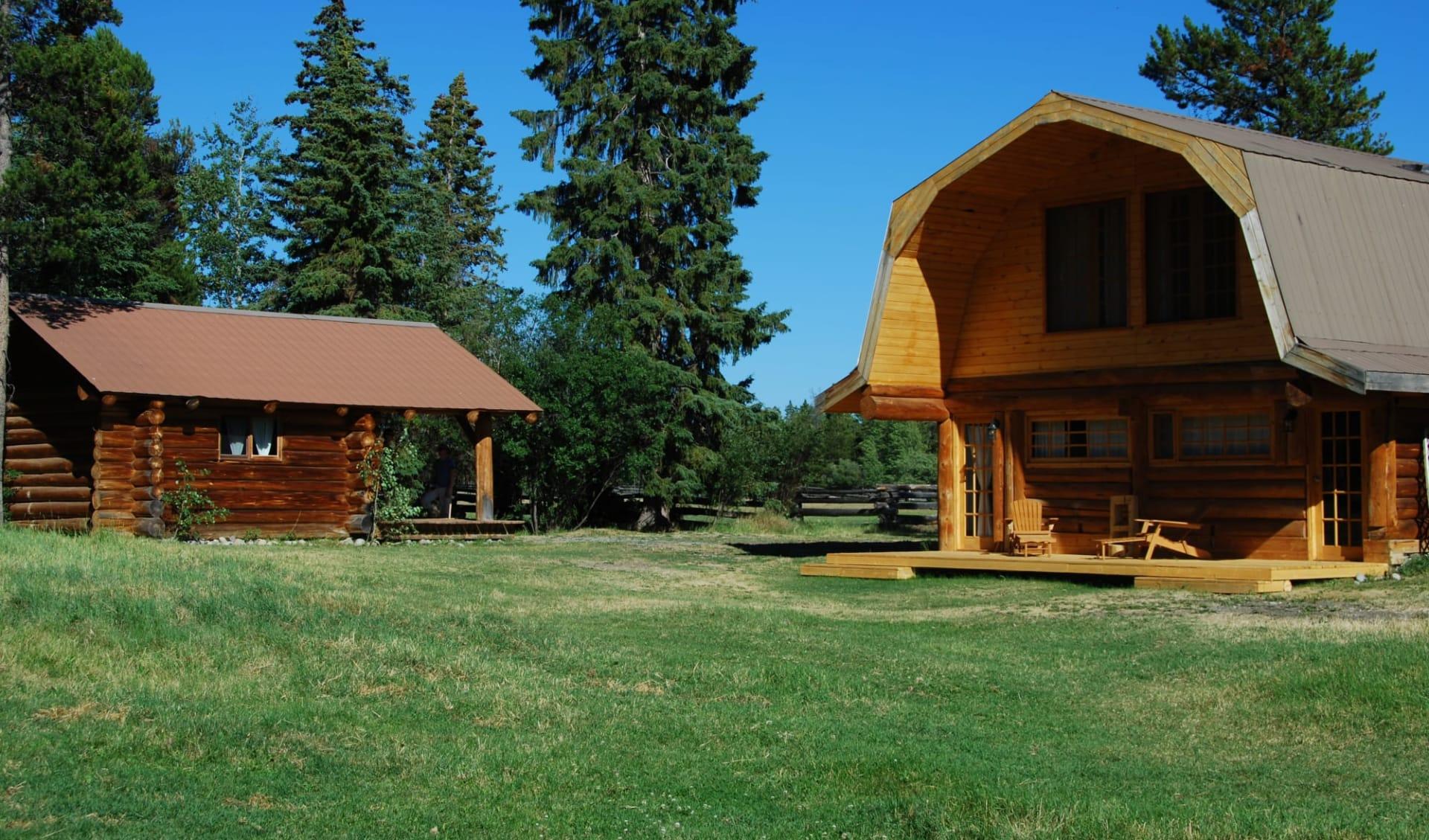 Terra Nostra Guest Ranch in Kleena Kleene: Cabin
