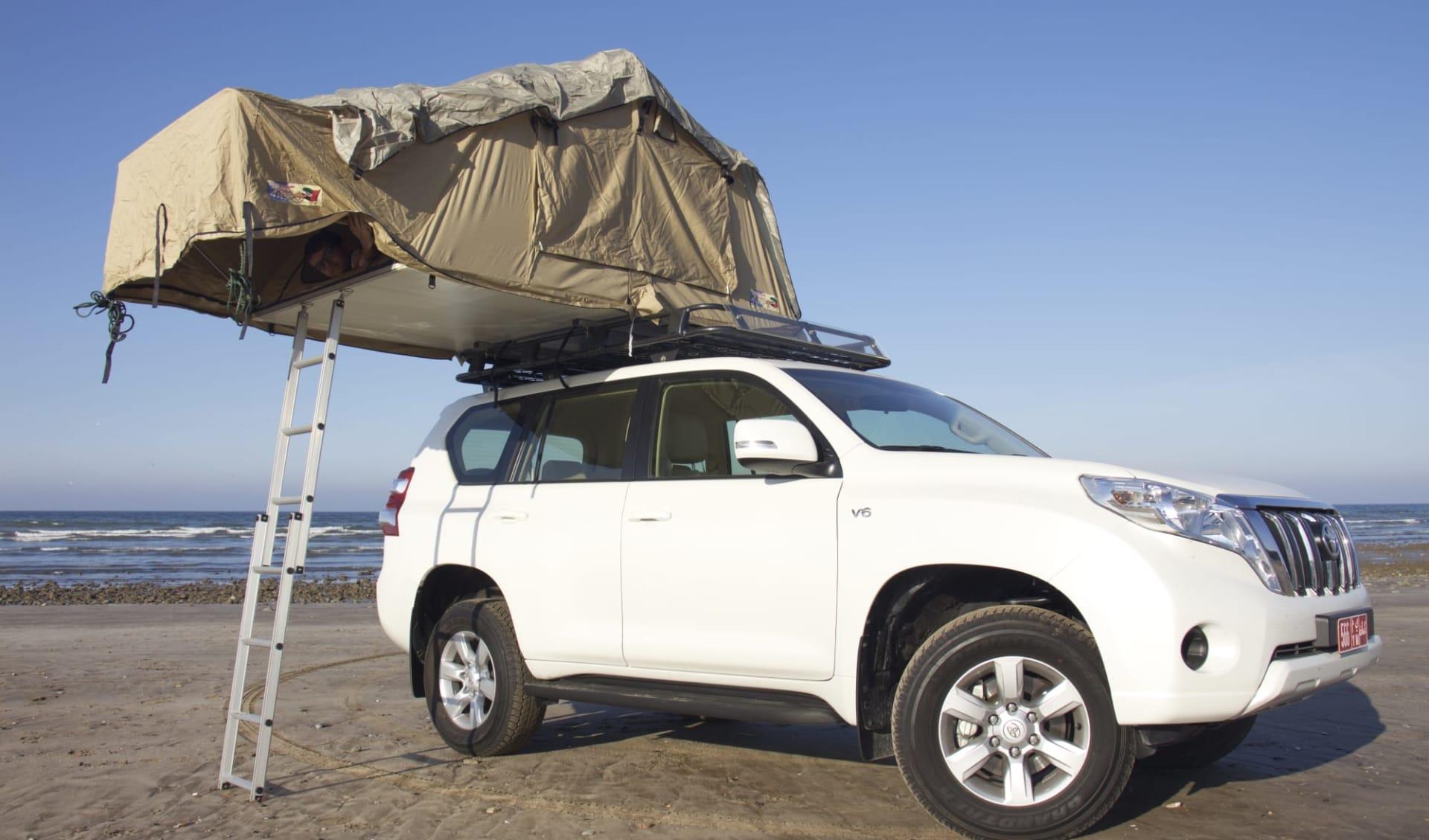 Unberührter Oman ab Salalah: camping in Oman
