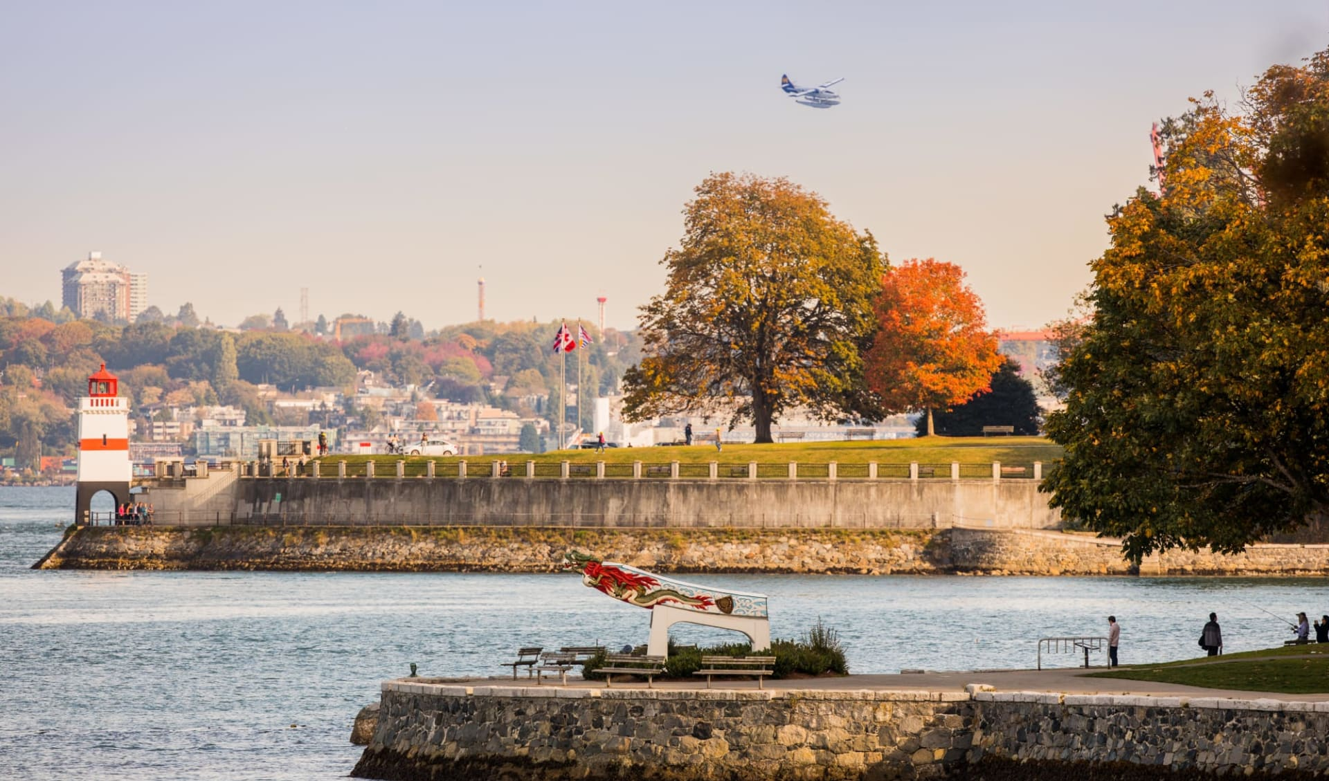 Höhepunkte Westkanadas ab Vancouver: Canada - British Columbia - Vancouver - Stanley Park Brockton Point