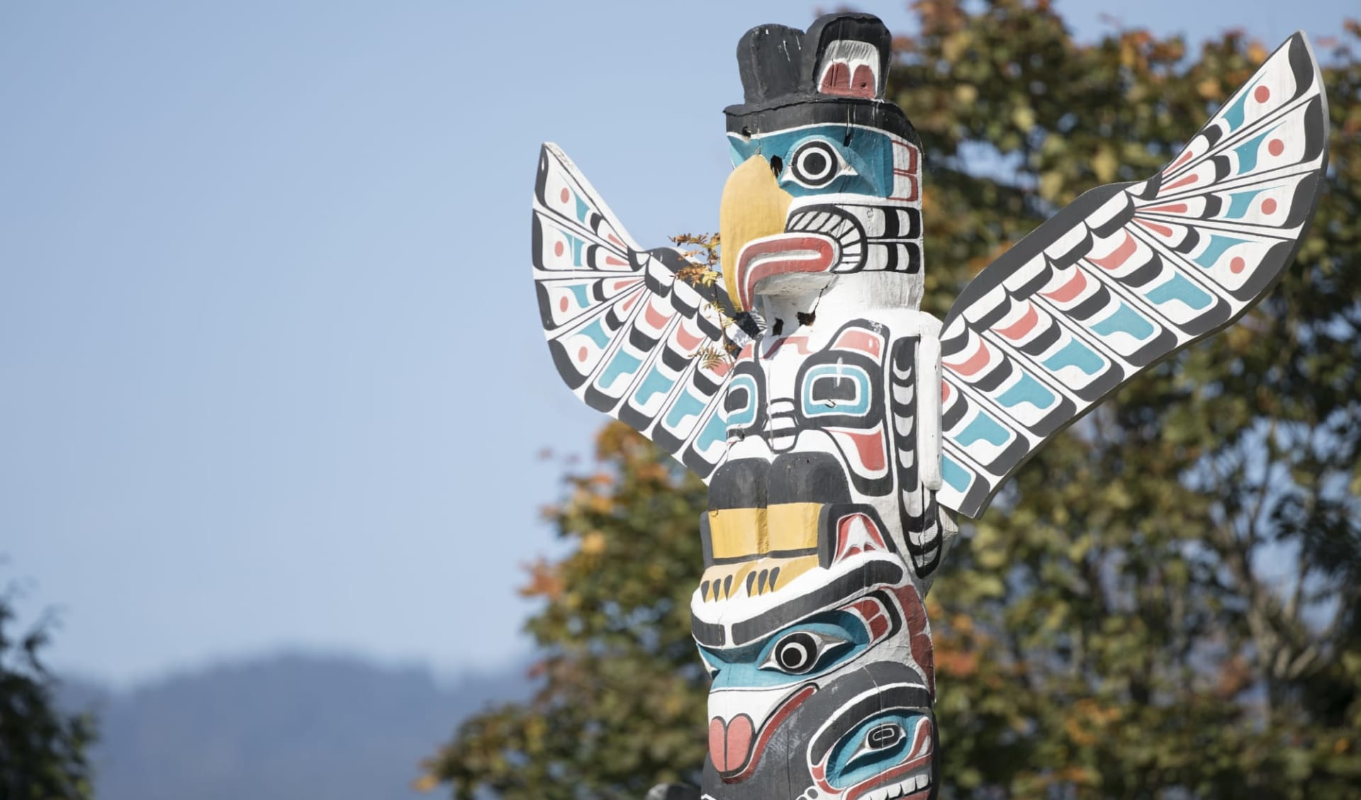 Lodge-Abenteuer Westkanada ab Calgary: Stanley Park Totem Pole
