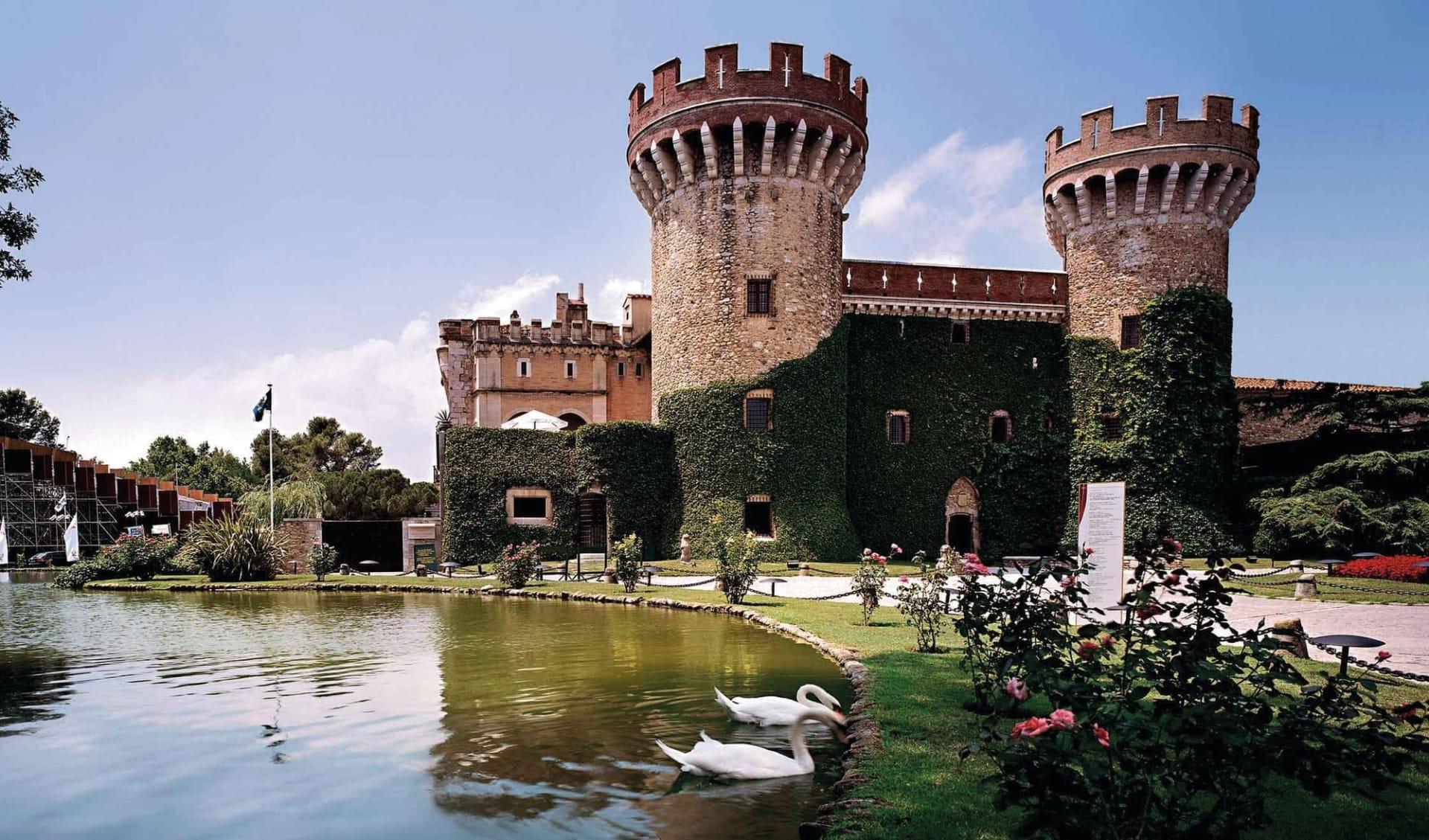 16.10. - 23.10.2021 Golf Trainingswoche an der Costa Brava ab Barcelona: Castillo_Perelada