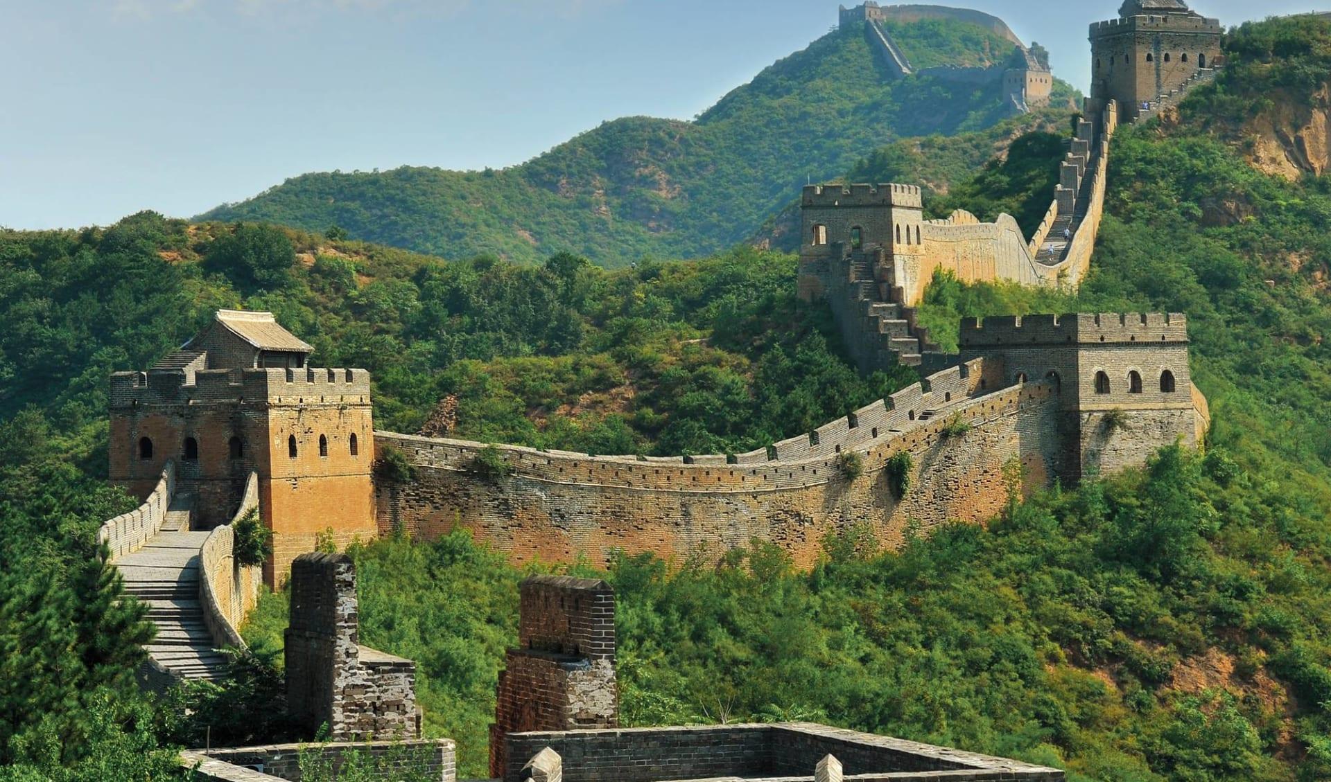 Sonderzug Zarengold Moskau - Peking: China_Grosse_Mauer_shutterstock_121691959_HungChungChih