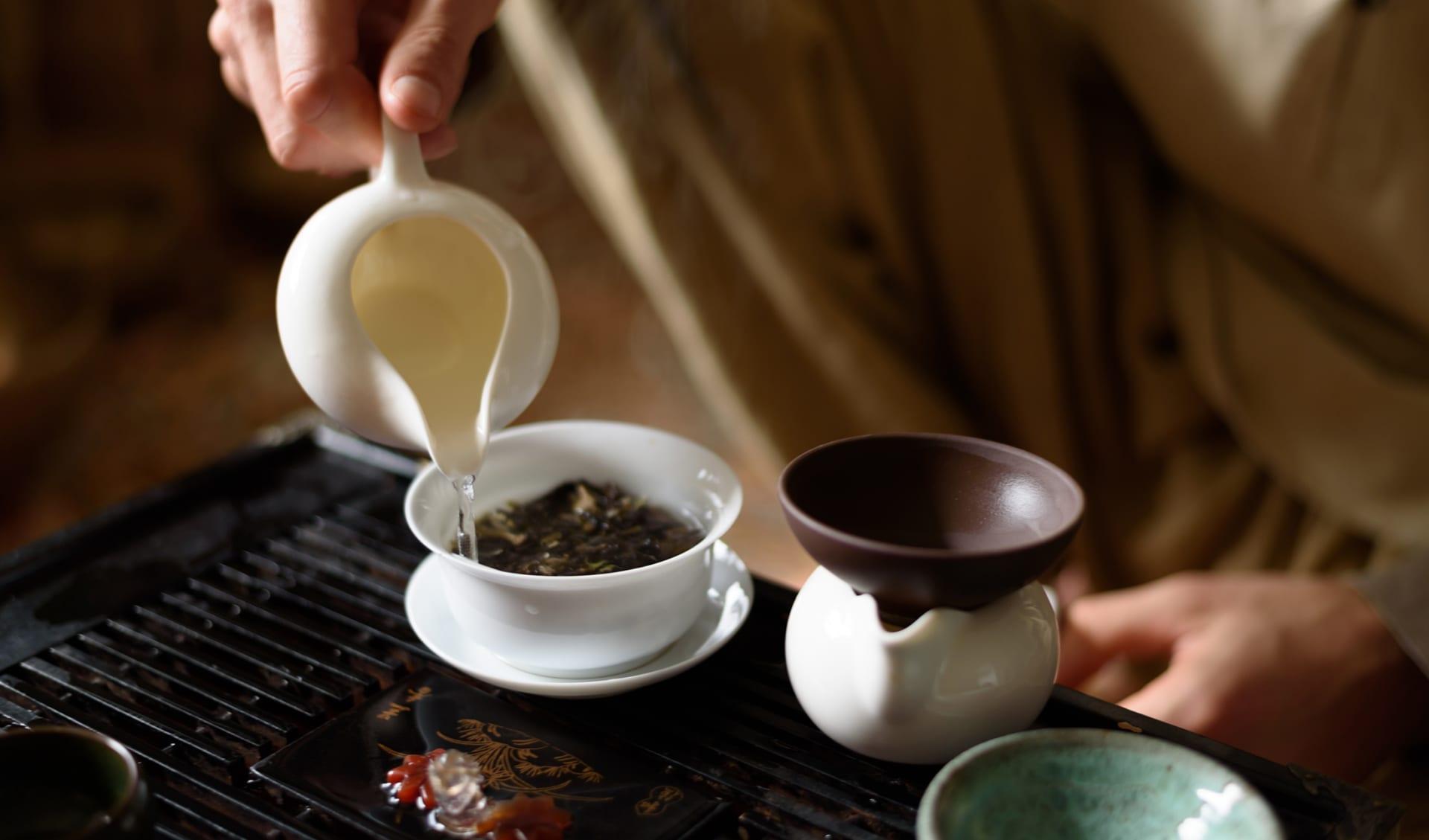 Chinesische Teetradition, China