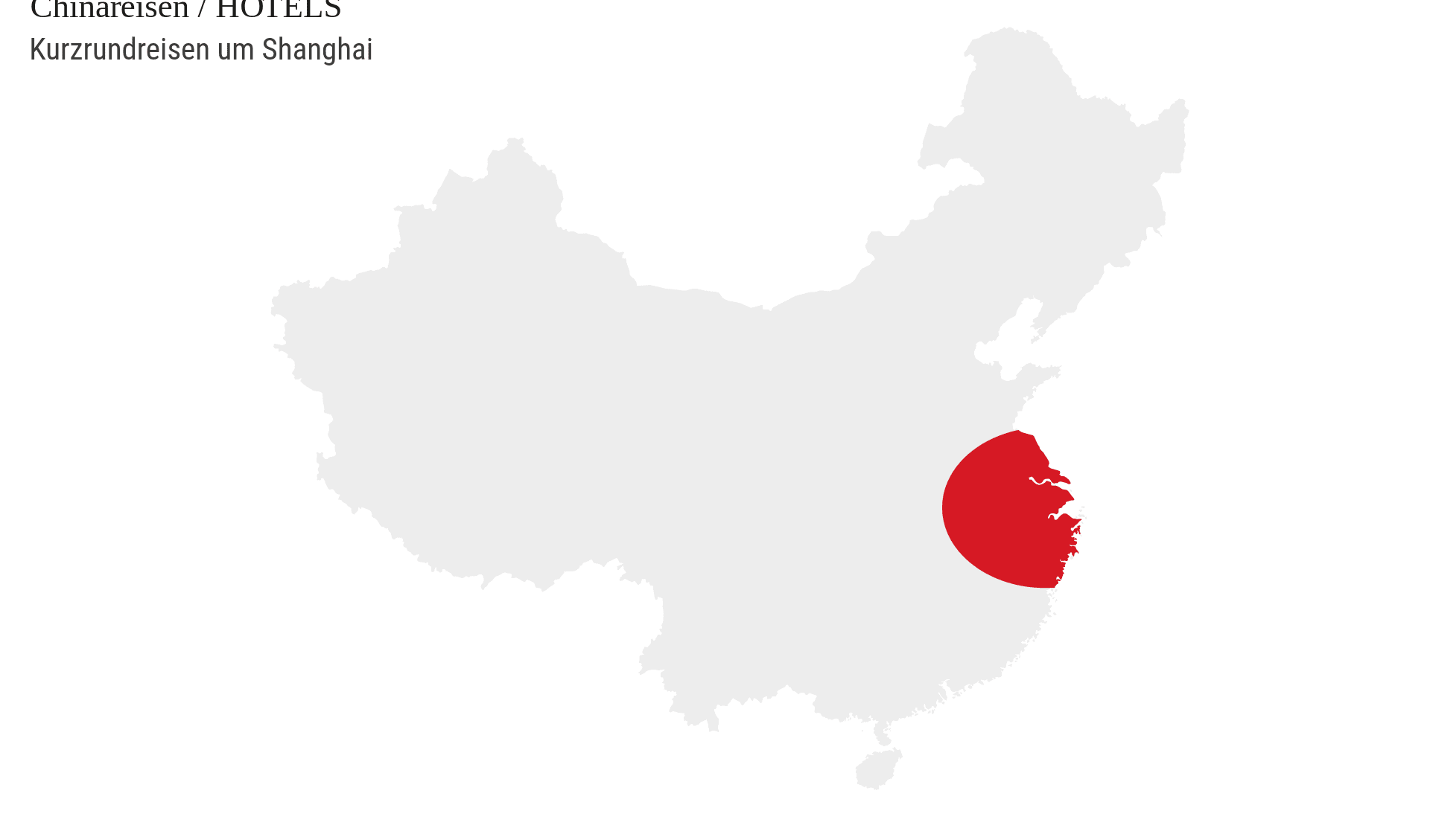 Kurzrundreisen Shanghai