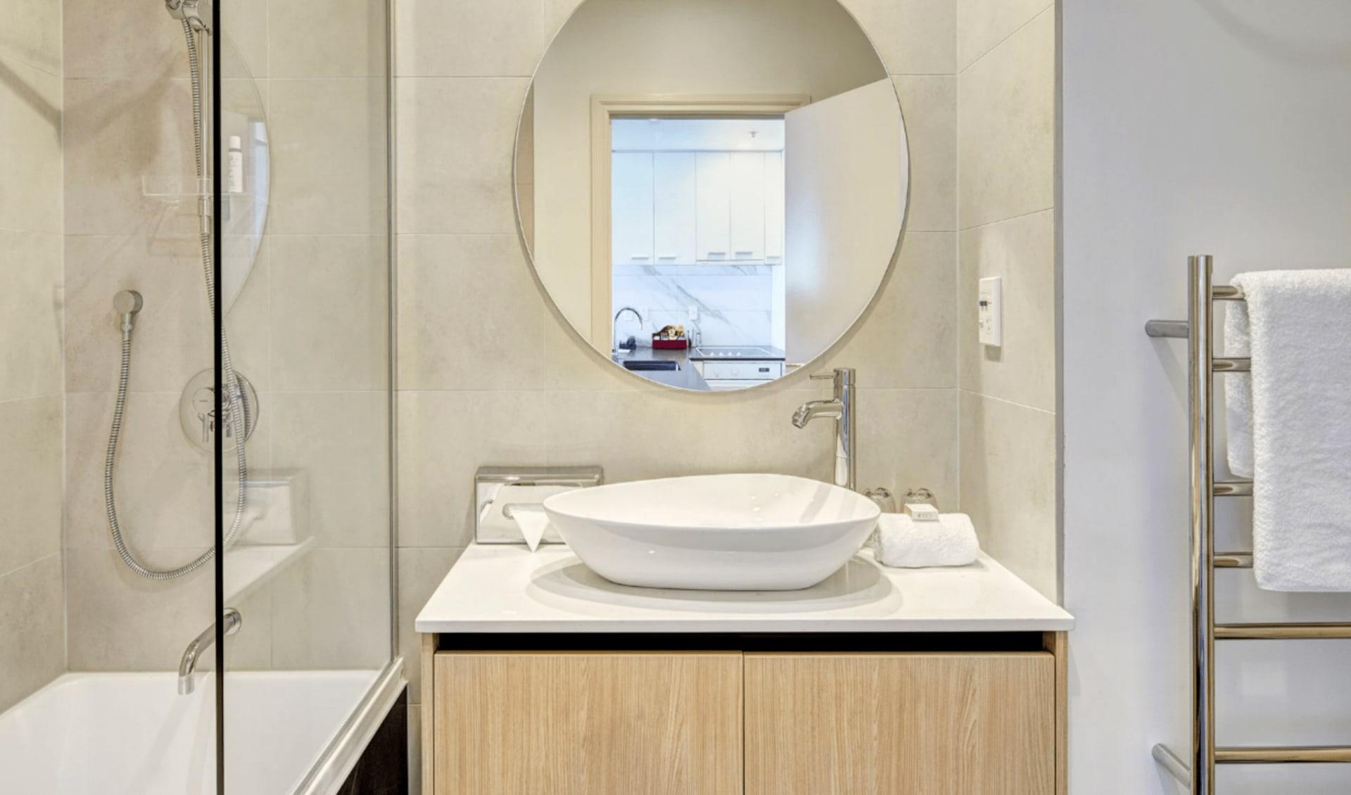 CityLife Auckland: CityLife 2 bedroom bath