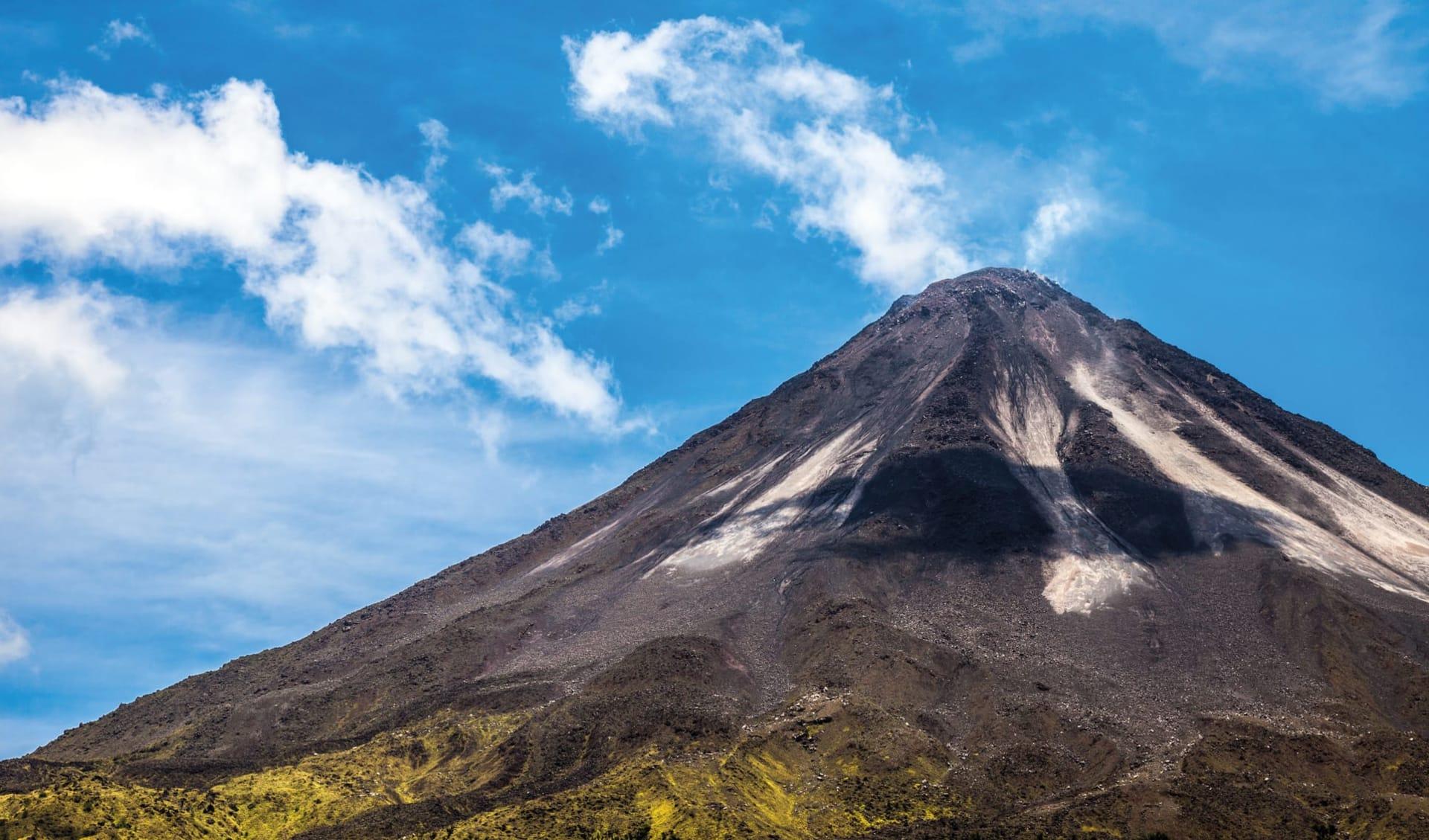 Privatreise Traumhaftes Costa Rica ab San José City: Costa Rica - Arenal Vulkan - Sicht auf Vulkan