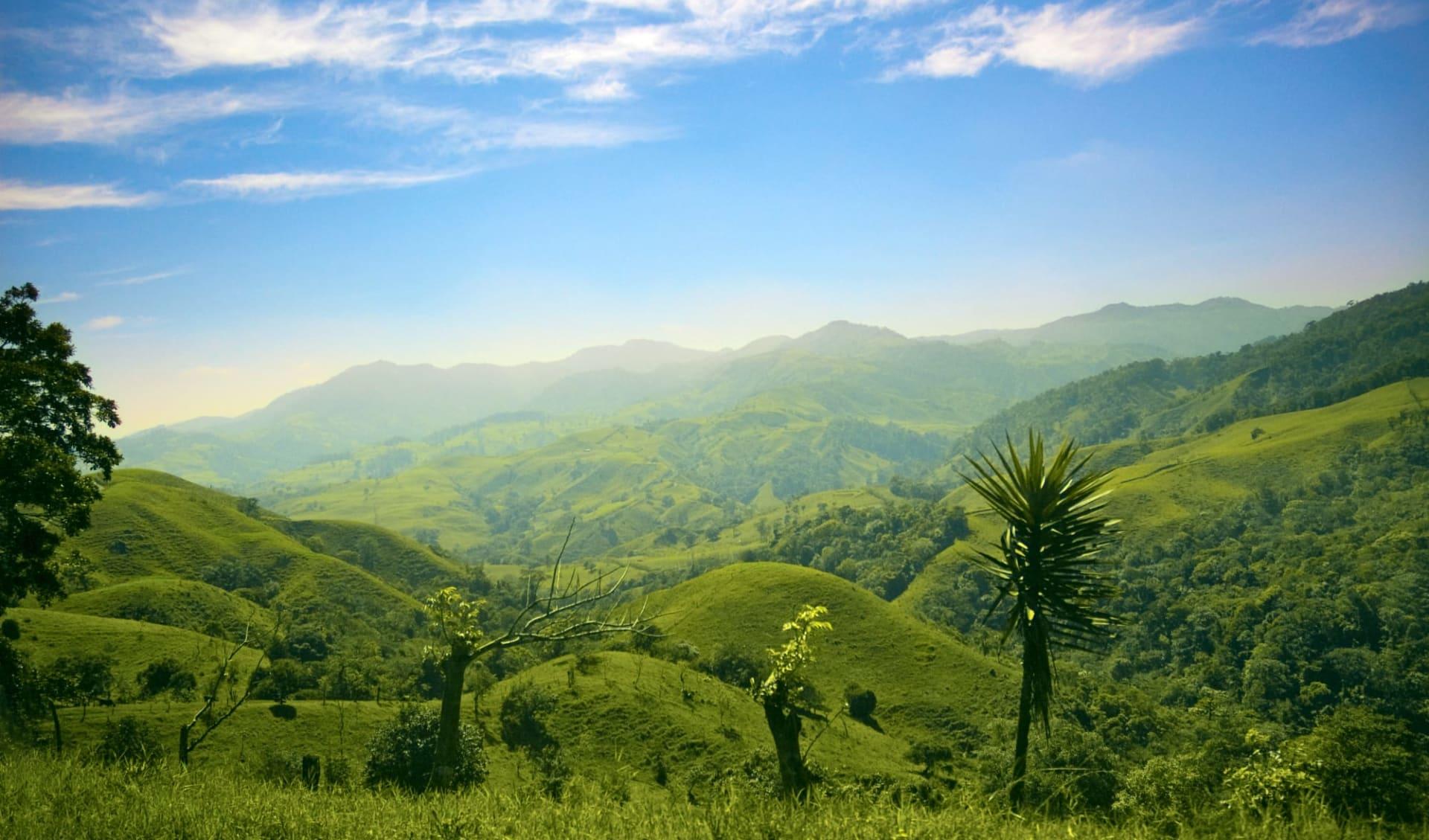 Mietwagenreise Costa Rica Classic ab San José City: Costa Rica - grüne Hügel