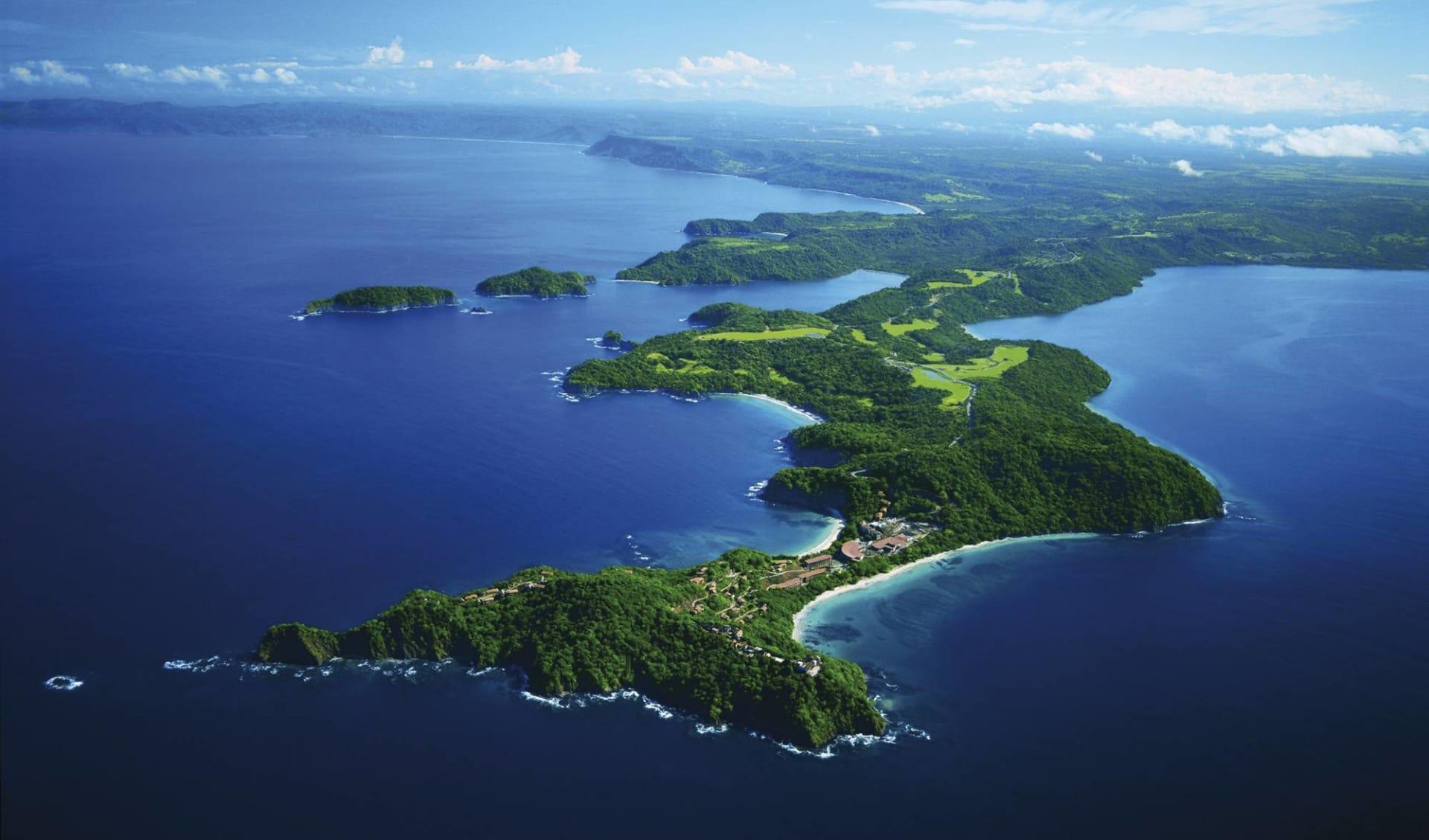 Privatreise Zwischen zwei Ozeanen ab San José City: Costa Rica - Vogelperspektive