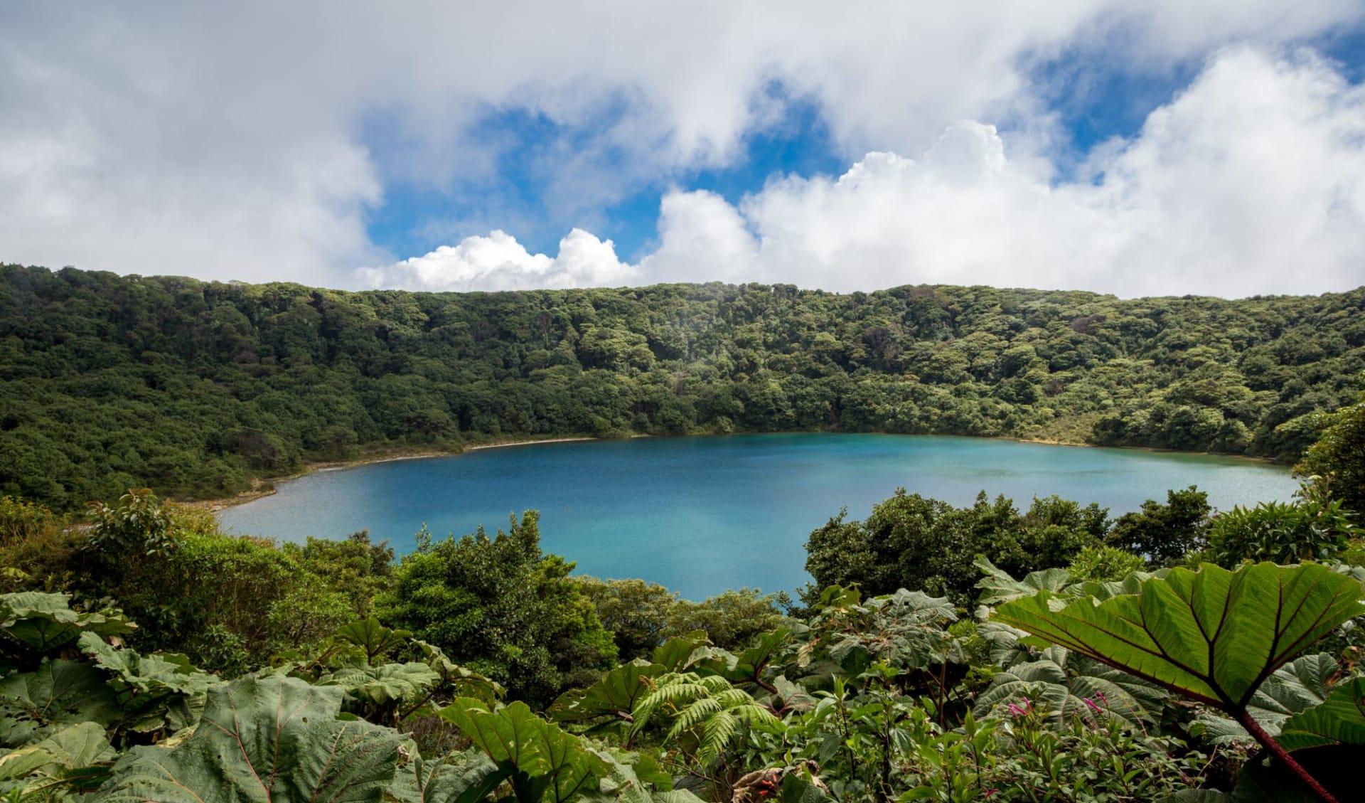 Gruppenreise Höhepunkte Costa Ricas ab San José City: Costa Rica - Vulkan Poas - Krater