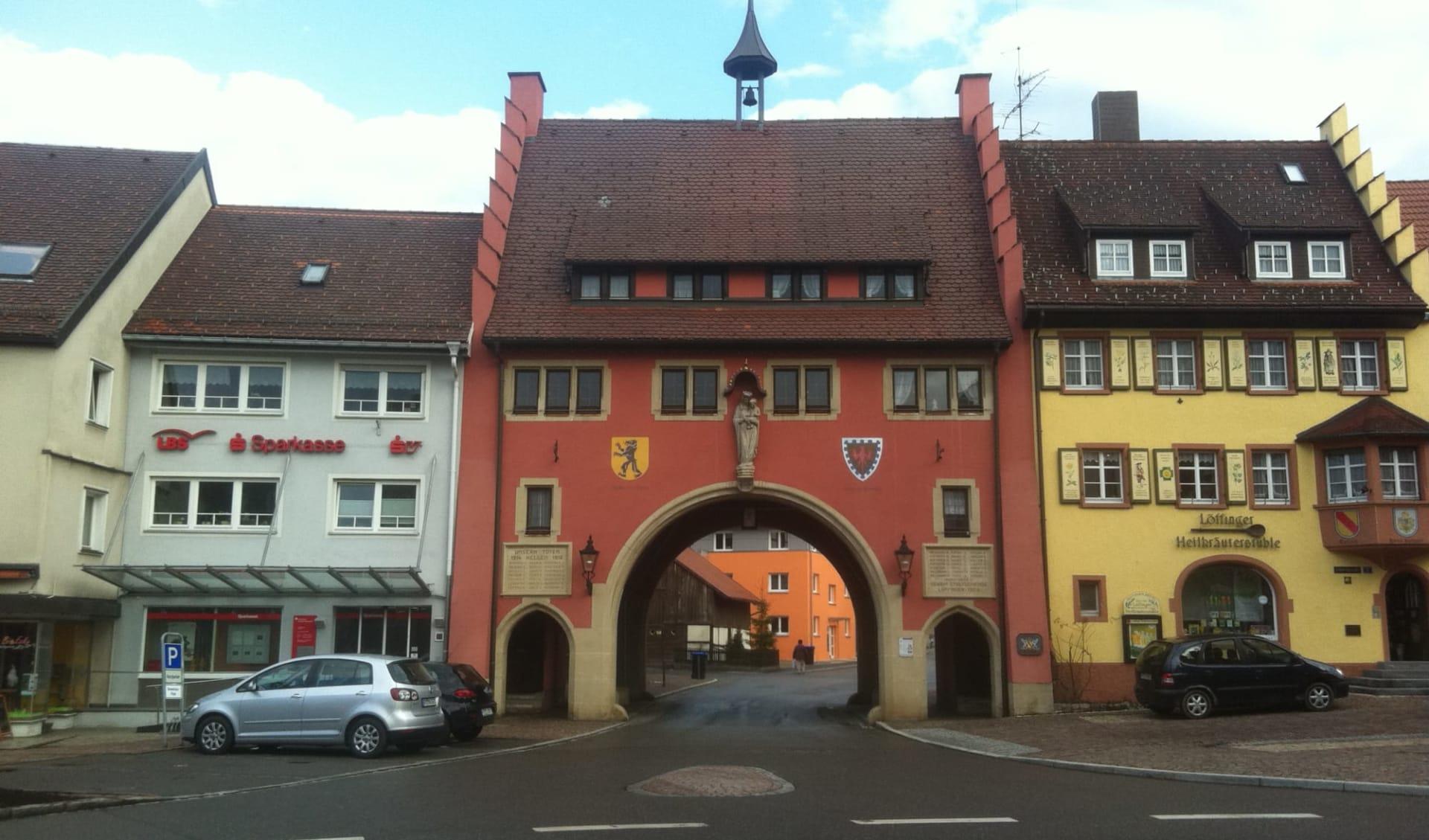Schwarzwald - Hotel Hexenschopf ab Freiburg: Deutschland - Löffingen - Altstadt
