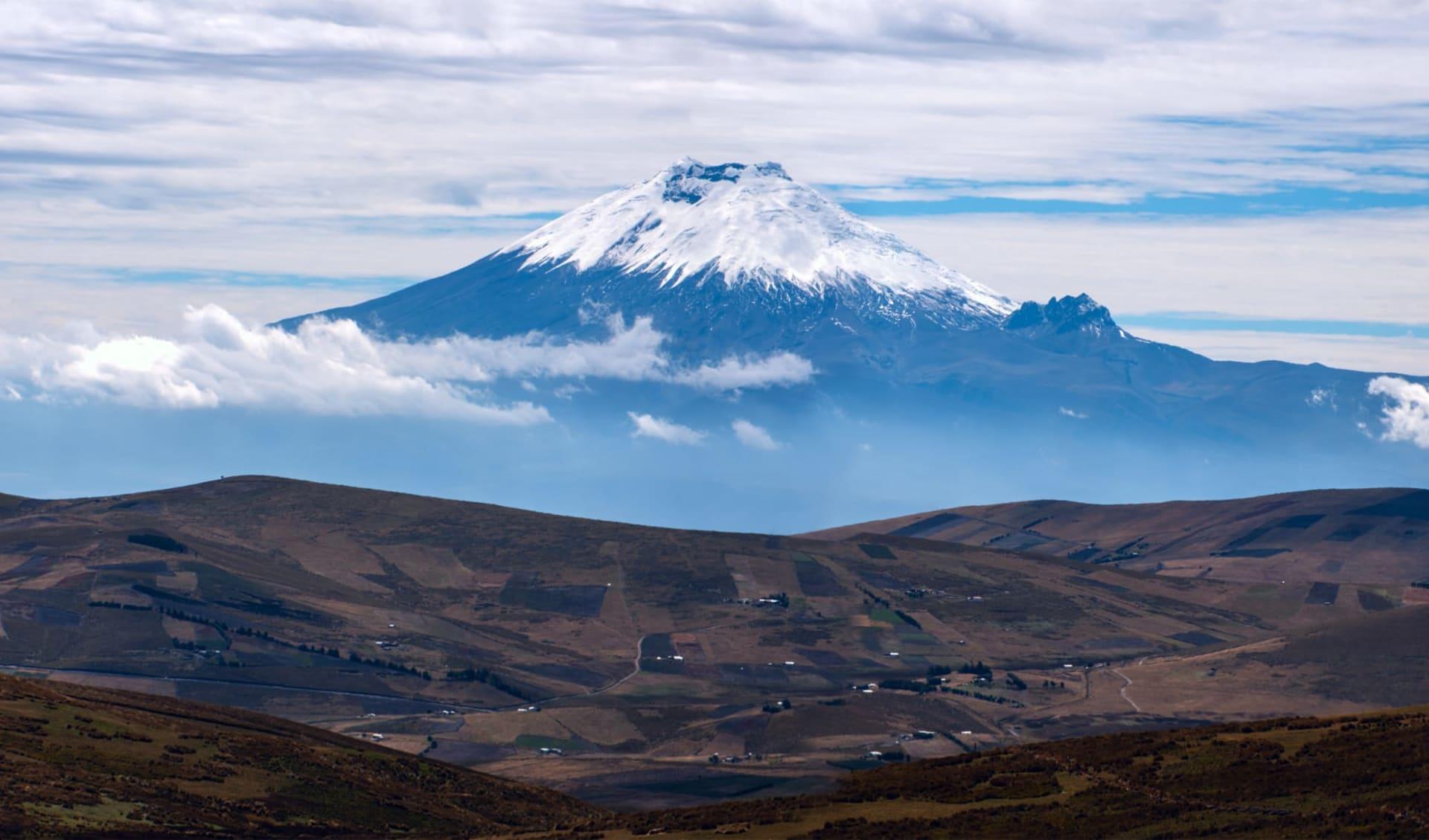 Anden - Galapagos Mosaik ab Quito: Ecuador - Cotopaxi - Vulkan