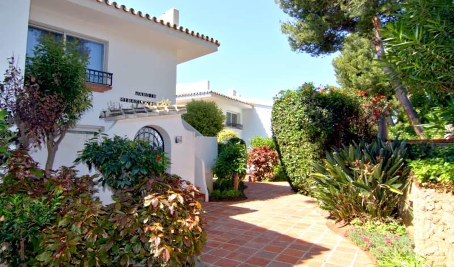 Mijas - Riviera Ferienwohnungen ab Malaga: eingang