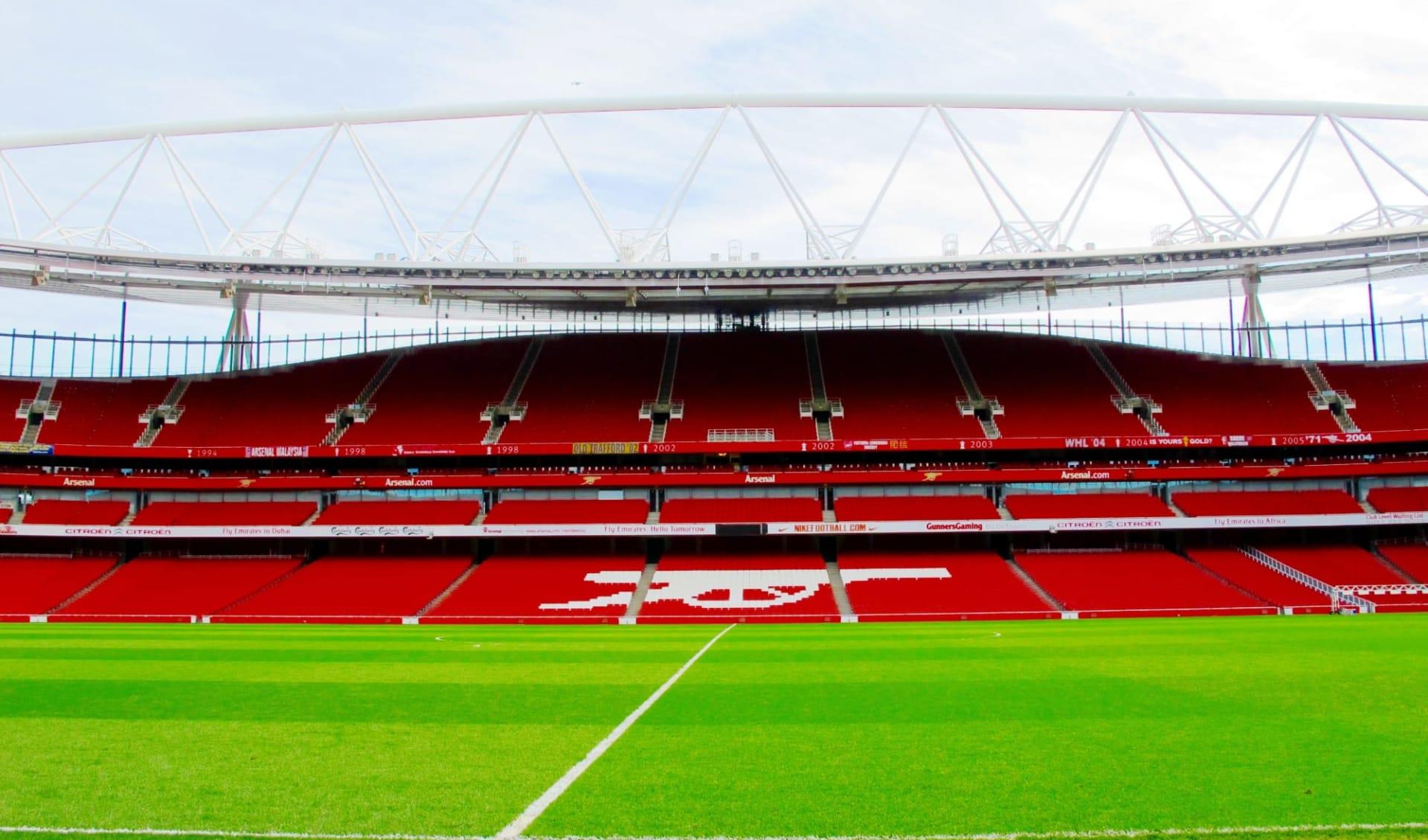 FC Arsenal ab London: emirates-stadium