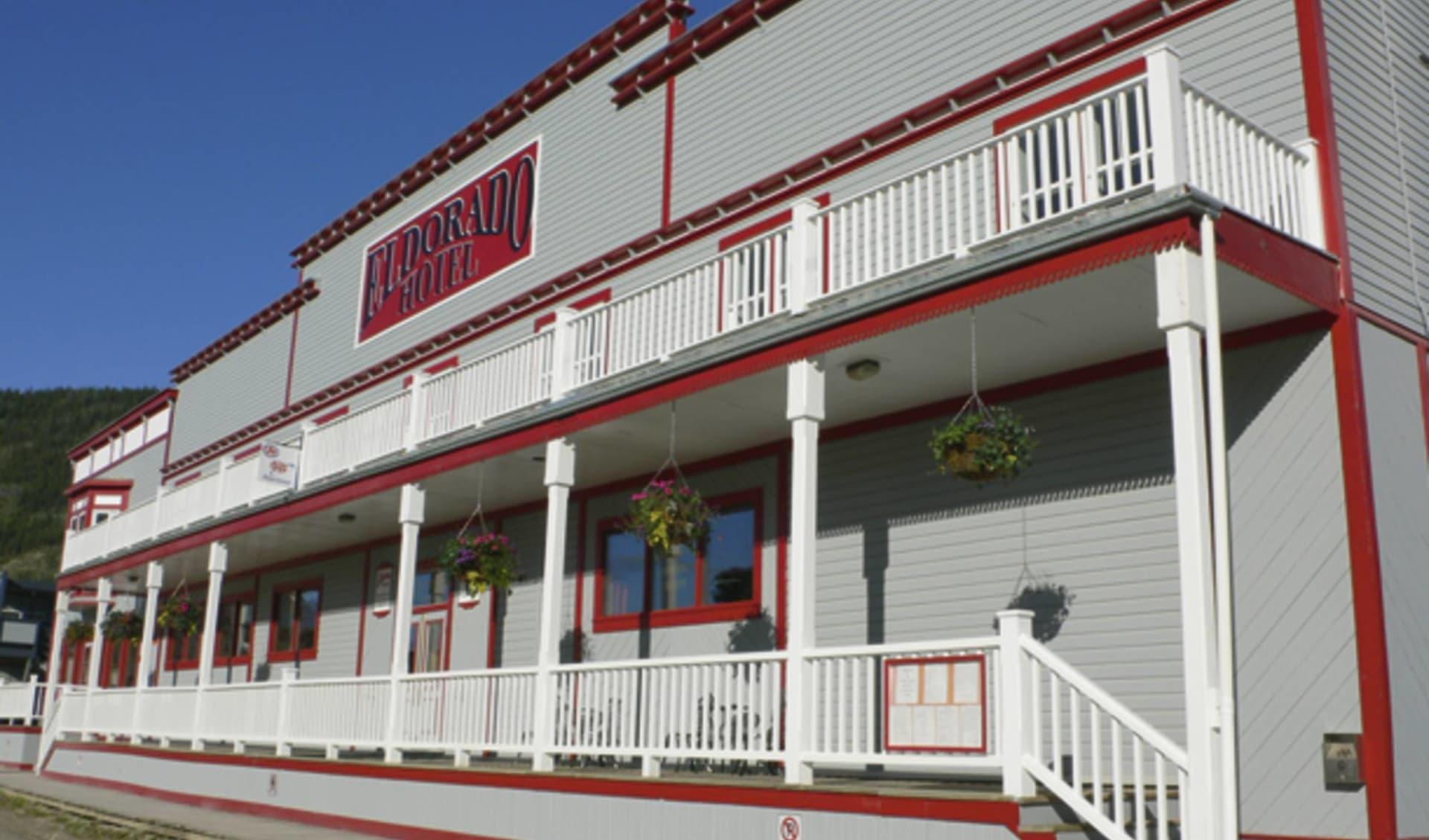 The Eldorado Hotel in Dawson City:  2011_088_05_eldorado hotel