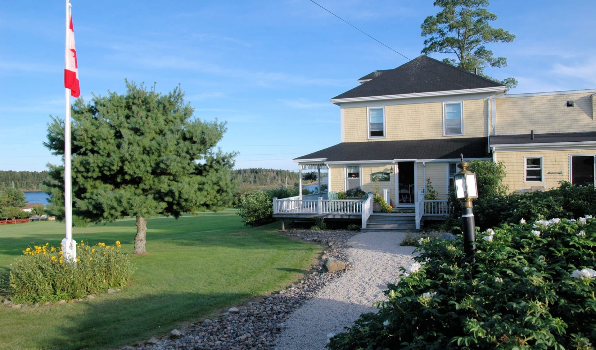 Bayview Pines Country Inn in Mahone Bay: Aussenansicht