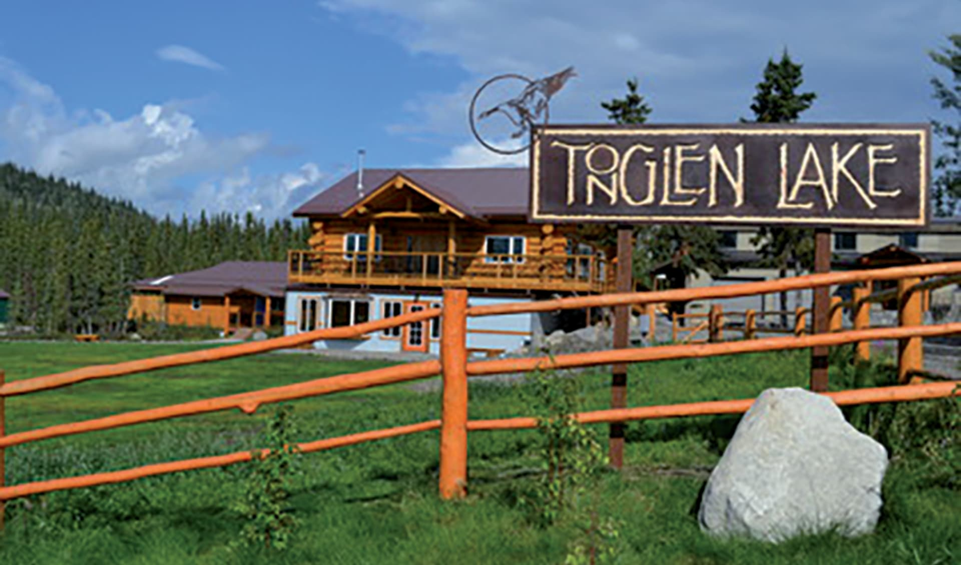 Tonglen Lake Lodge in Denali National Park:  2015_95_Tonglen Lake Lodge