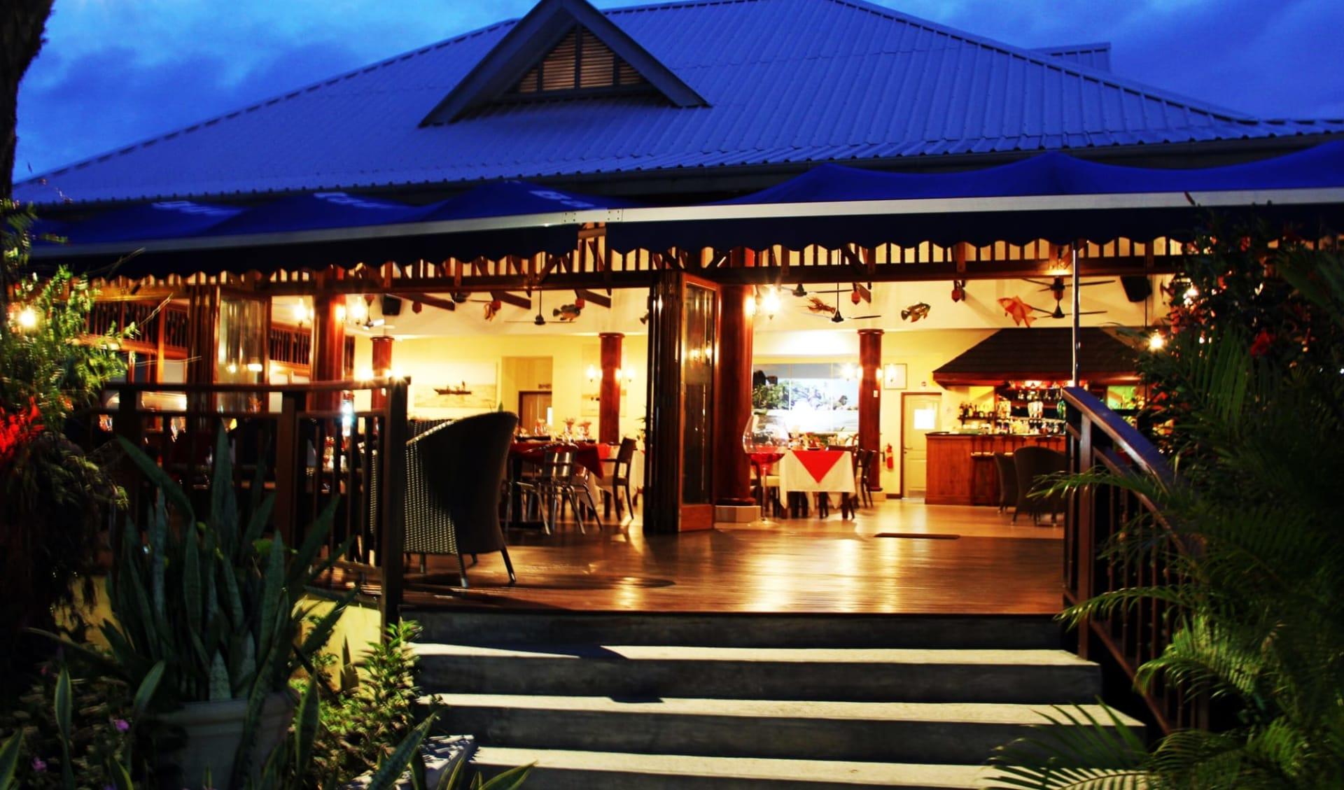 Pirogue Lodge in Praslin: