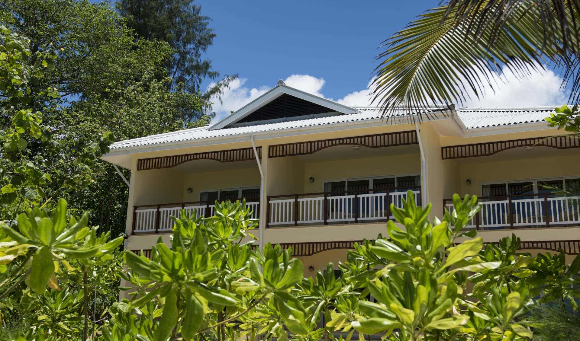 Acajou Beach Resort in Praslin: