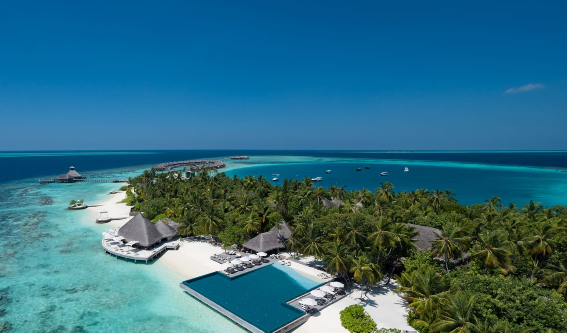 Huvafen Fushi in Nordmale-Atoll: