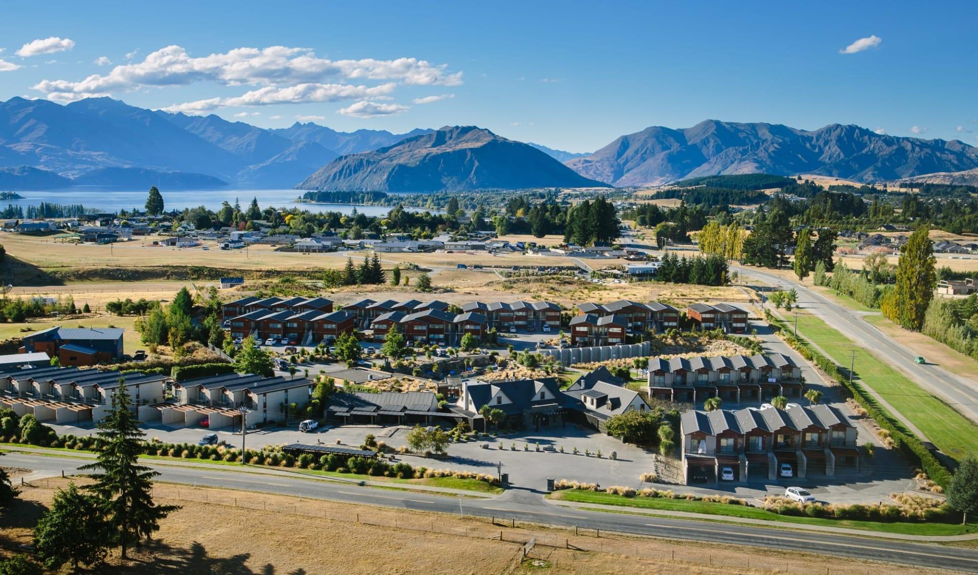 Oakridge Resort Wanaka:  Aerial View